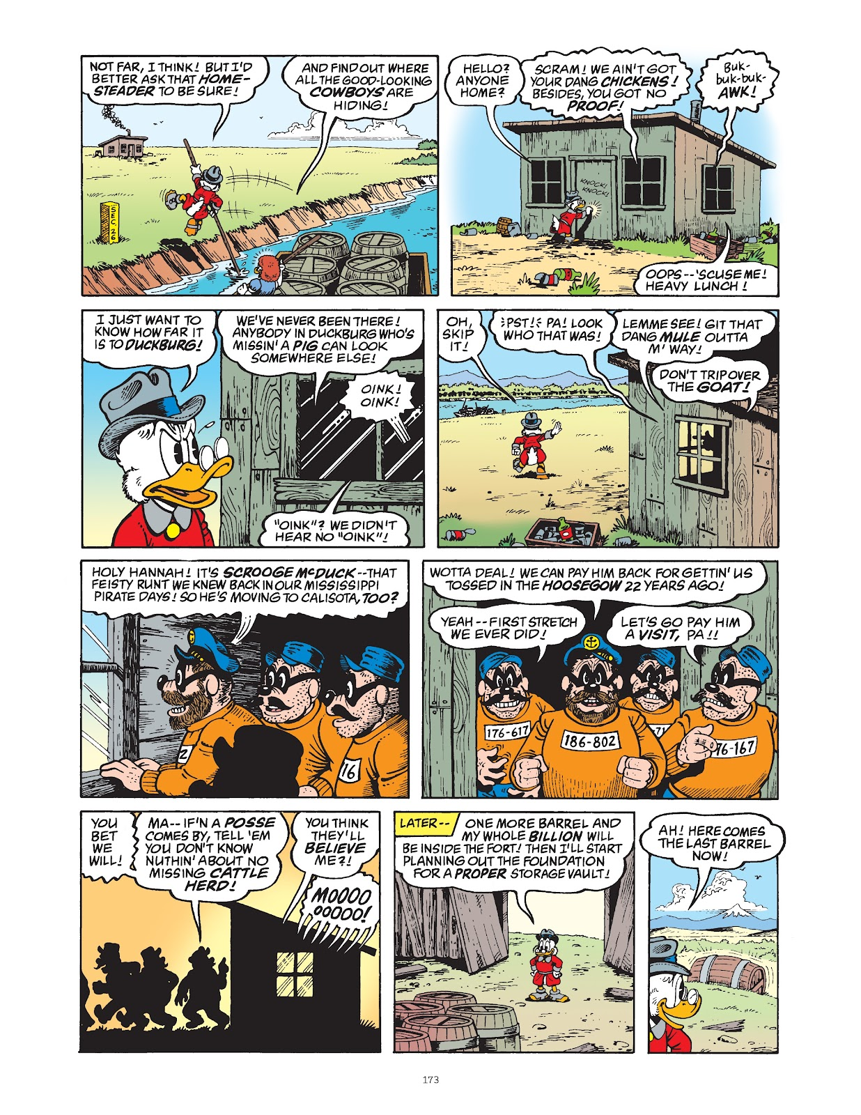 Read online The Complete Life and Times of Scrooge McDuck comic -  Issue # TPB 1 (Part 2) - 69