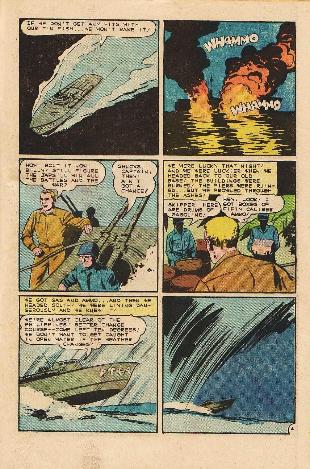 Read online Fightin' Navy comic -  Issue #121 - 31
