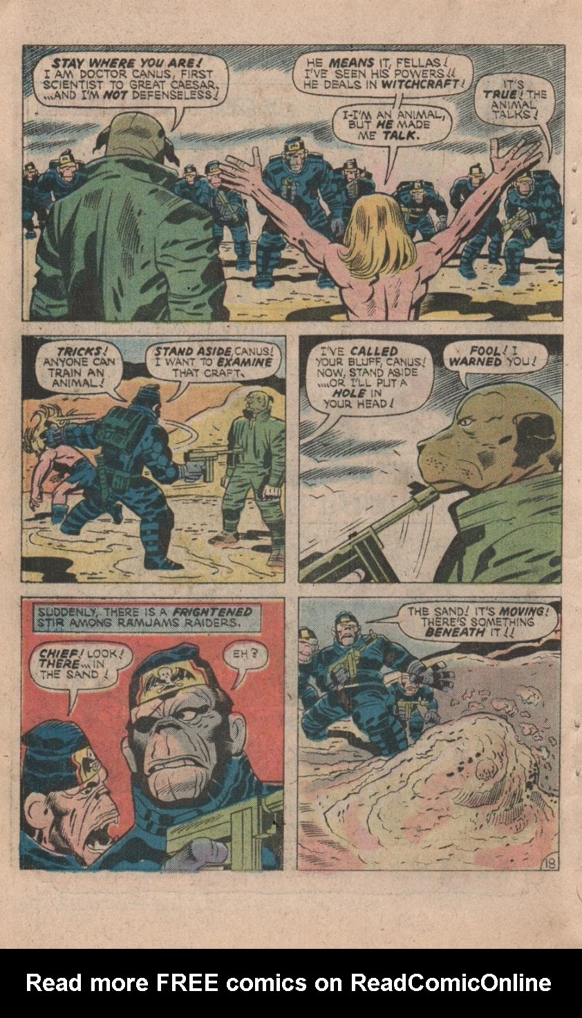 Kamandi, The Last Boy On Earth issue 32 - Page 20