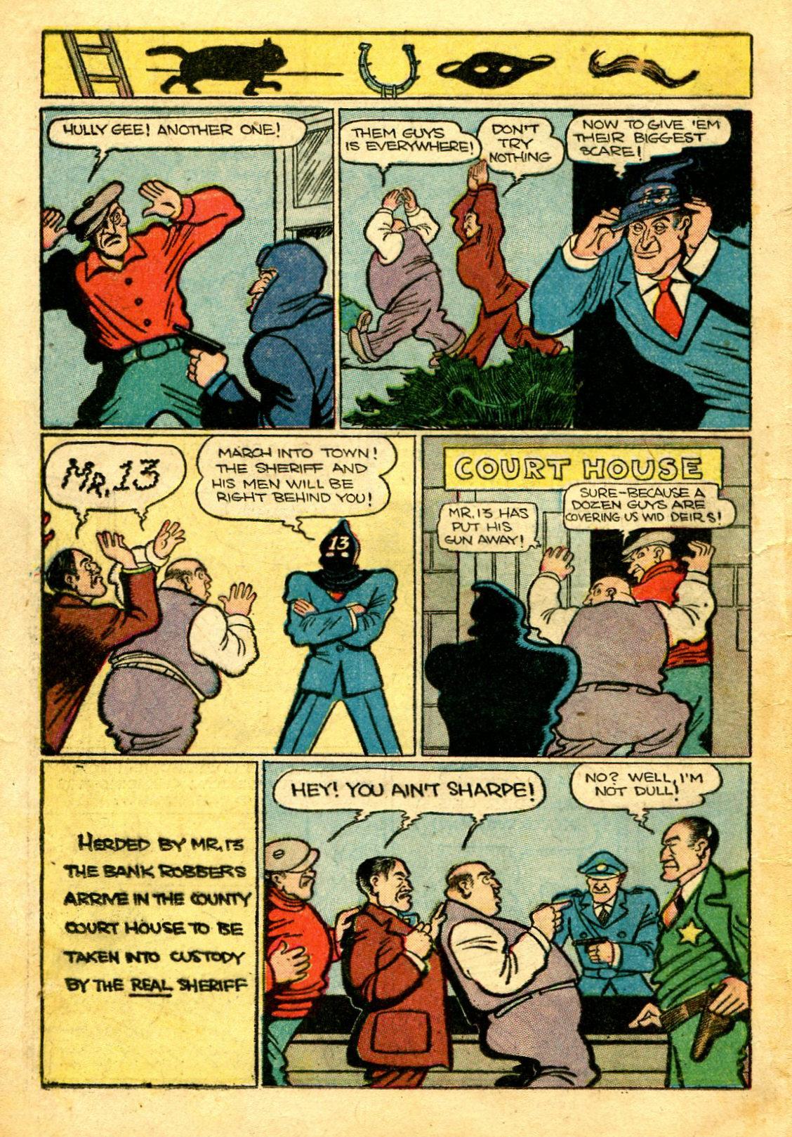 Read online Shadow Comics comic -  Issue #43 - 30