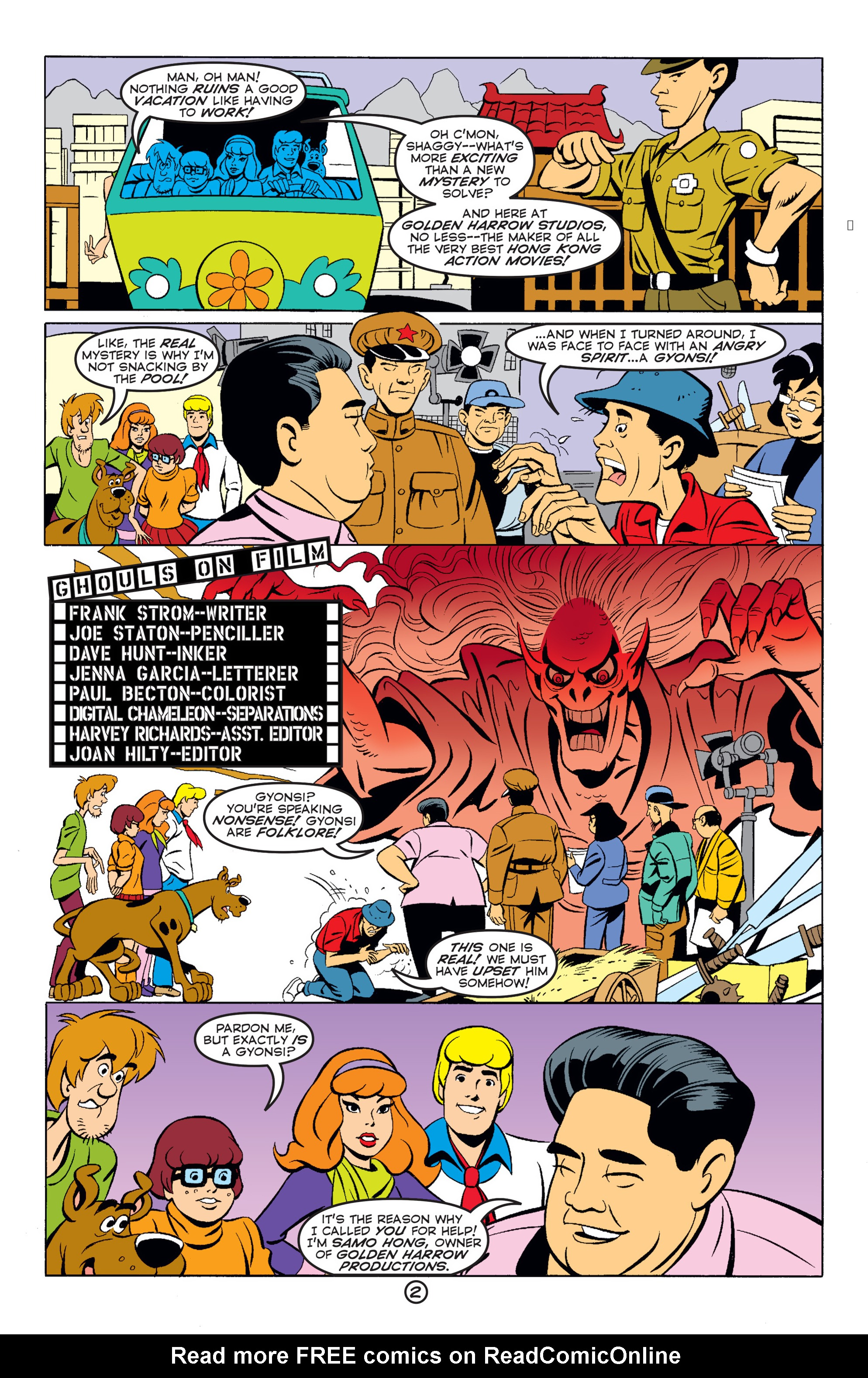 Read online Scooby-Doo (1997) comic -  Issue #59 - 3