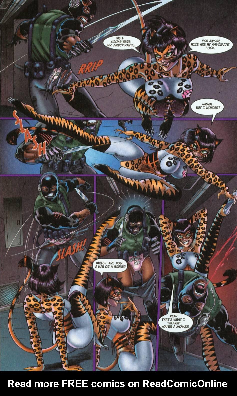 Read online 3 Little Kittens: Purrr-fect Weapons comic -  Issue #1 - 10