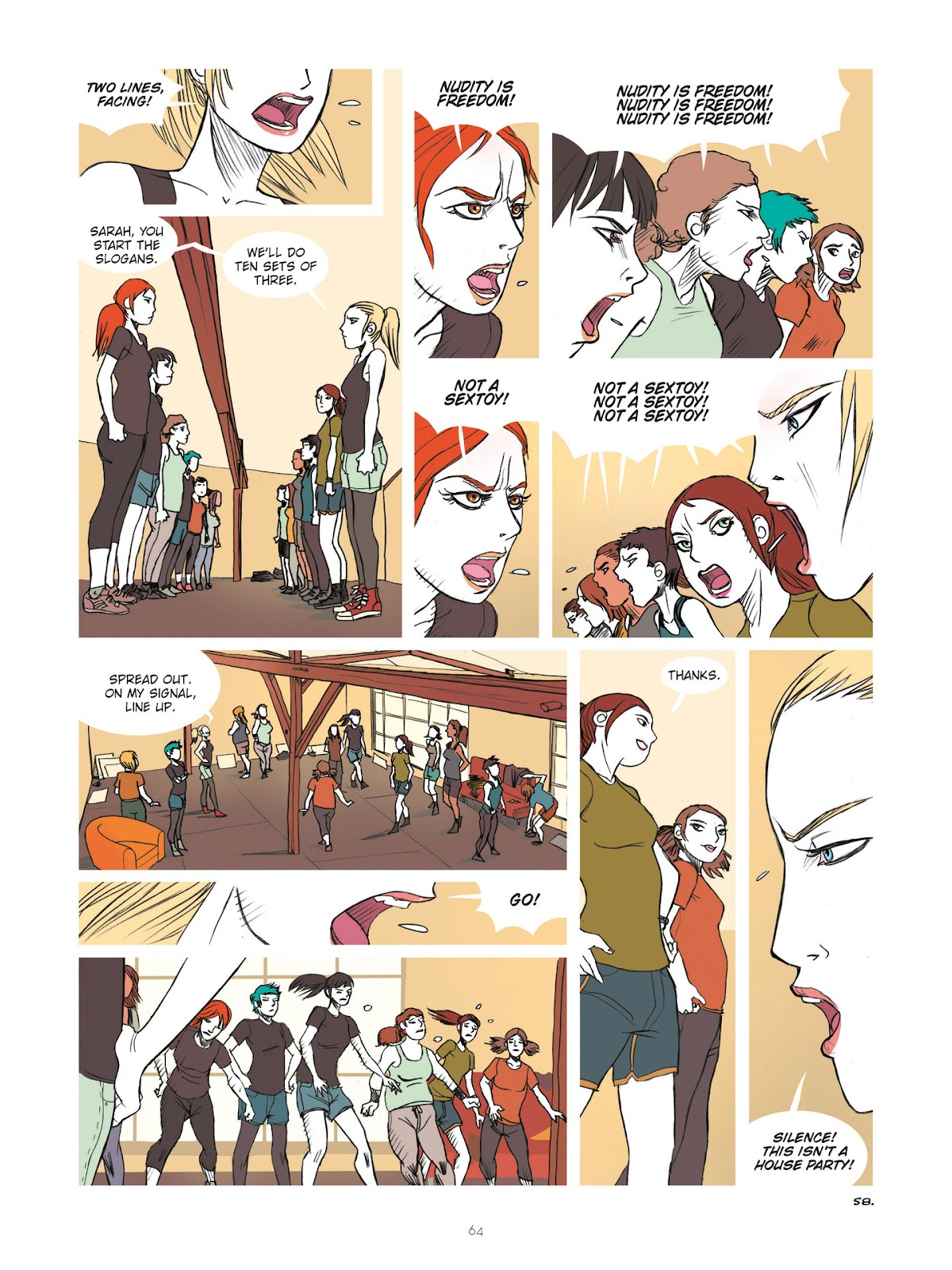Read online Diary of A Femen comic -  Issue # TPB - 66