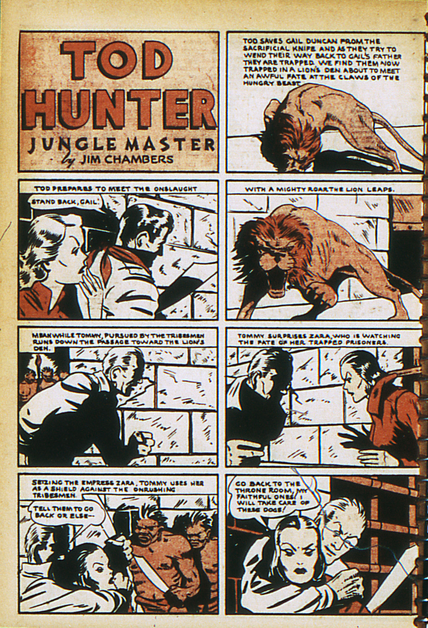 Read online Adventure Comics (1938) comic -  Issue #29 - 39