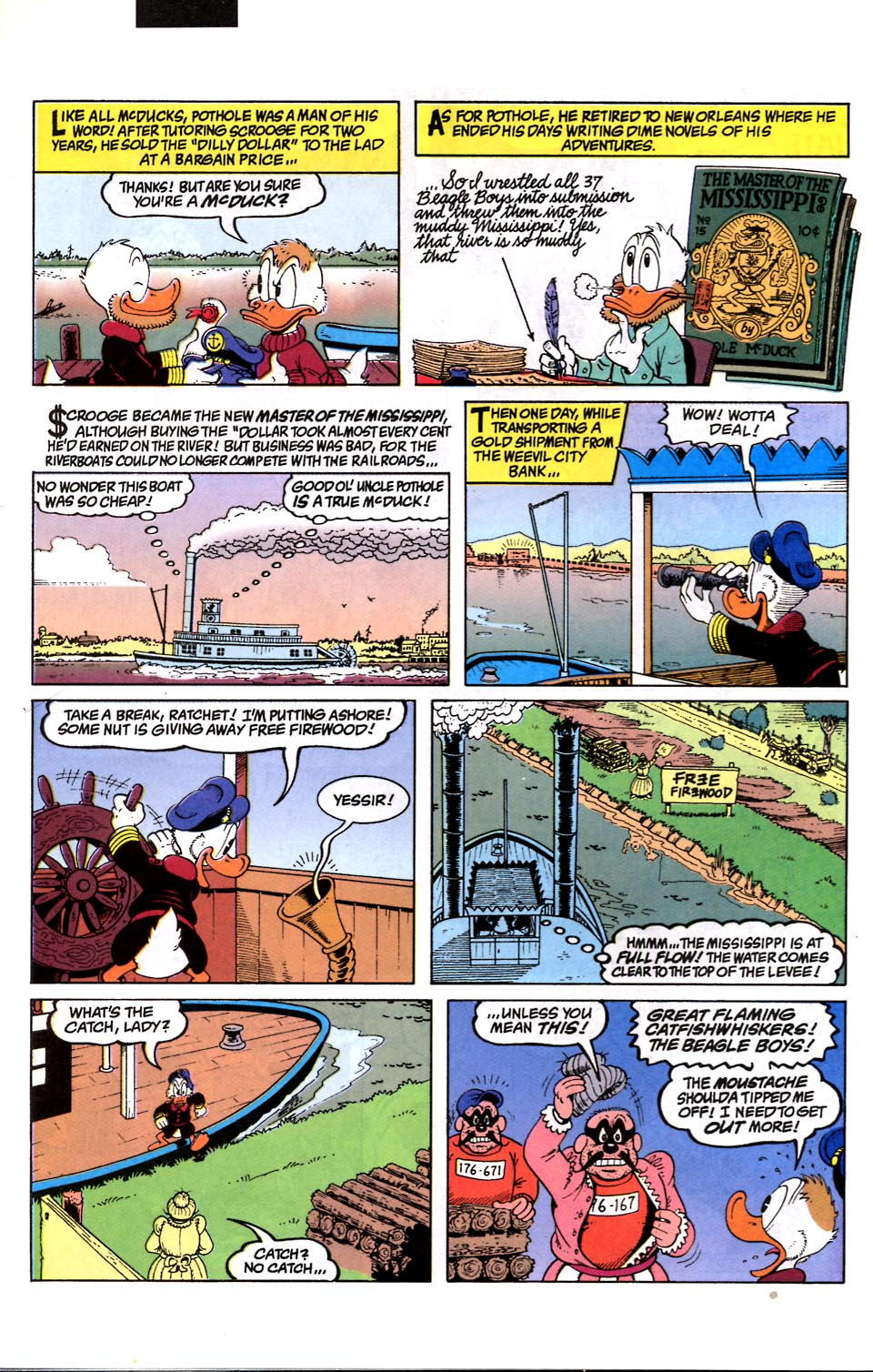 Read online Uncle Scrooge (1953) comic -  Issue #286 - 23