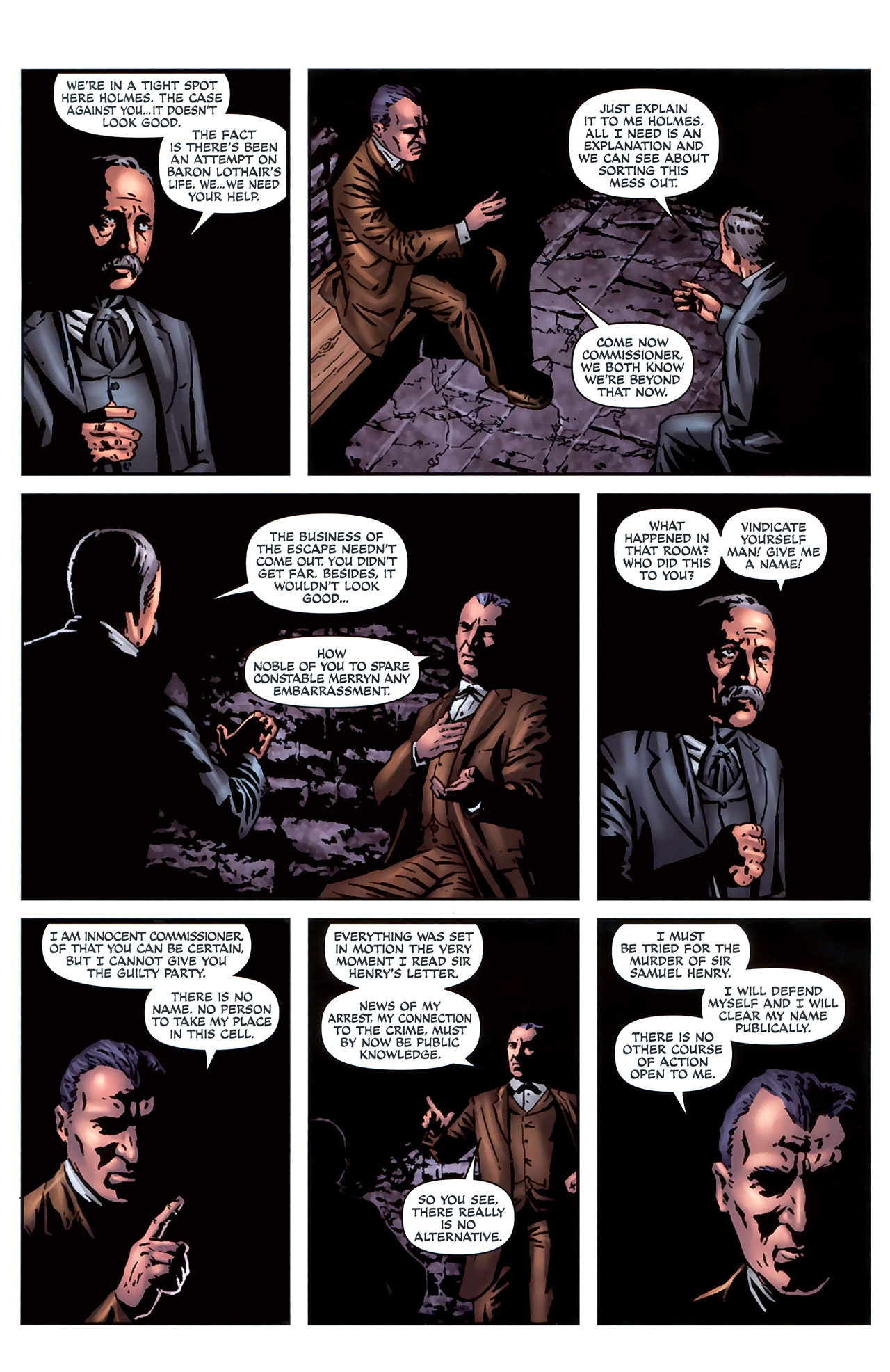 Read online Sherlock Holmes (2009) comic -  Issue #4 - 23