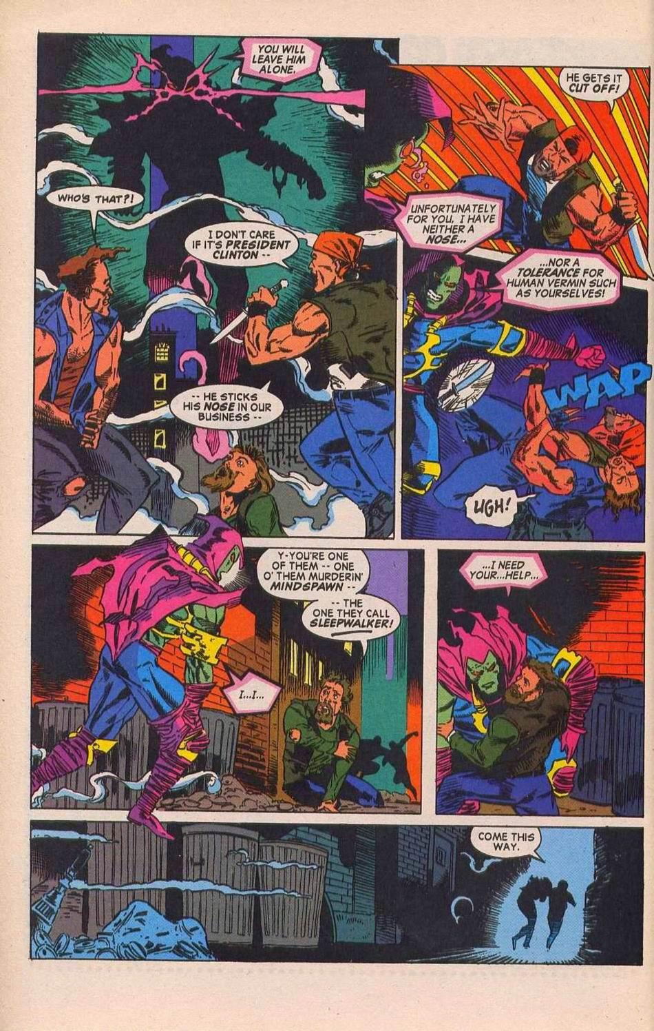 Read online Sleepwalker comic -  Issue #28 - 7