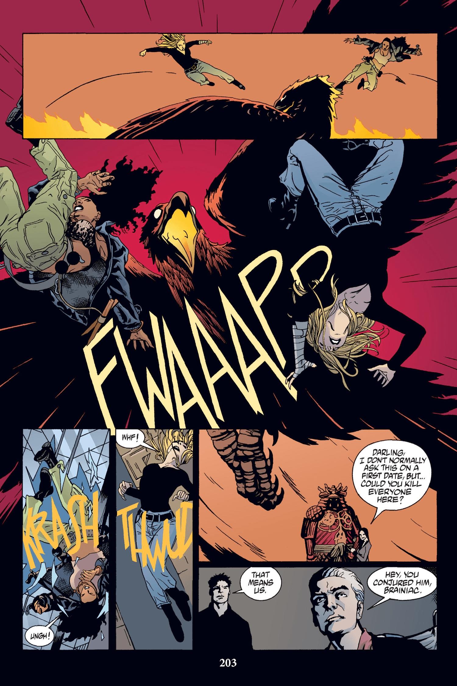 Read online Buffy the Vampire Slayer: Omnibus comic -  Issue # TPB 2 - 197