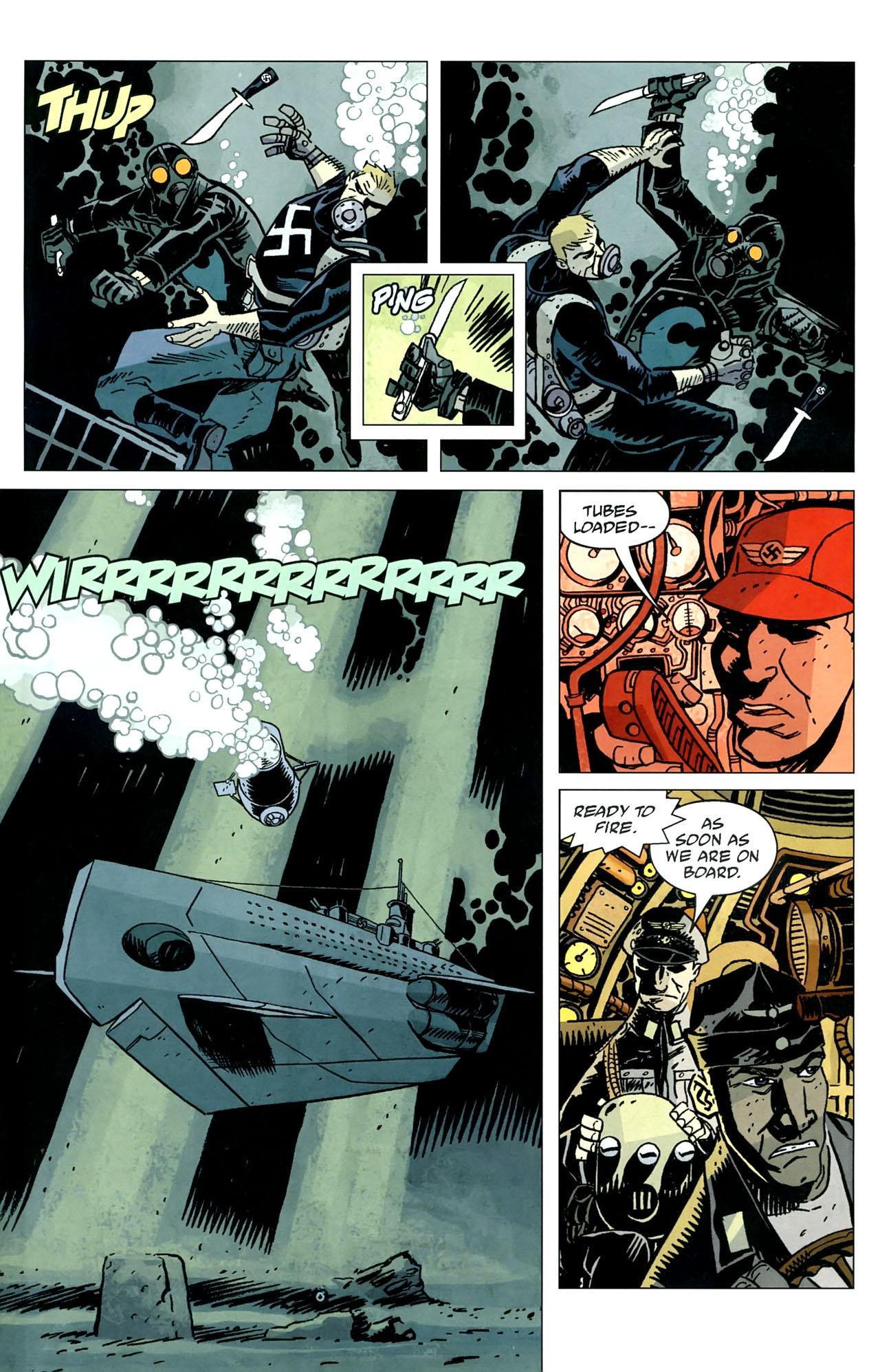 Read online Lobster Johnson: The Iron Prometheus comic -  Issue #5 - 16