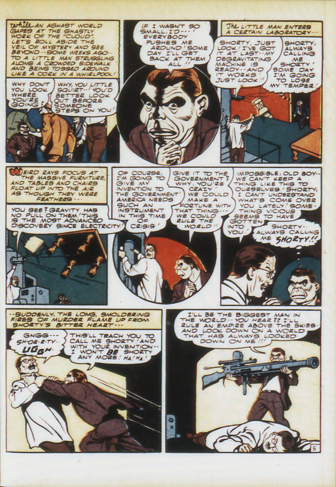 Read online Adventure Comics (1938) comic -  Issue #74 - 38