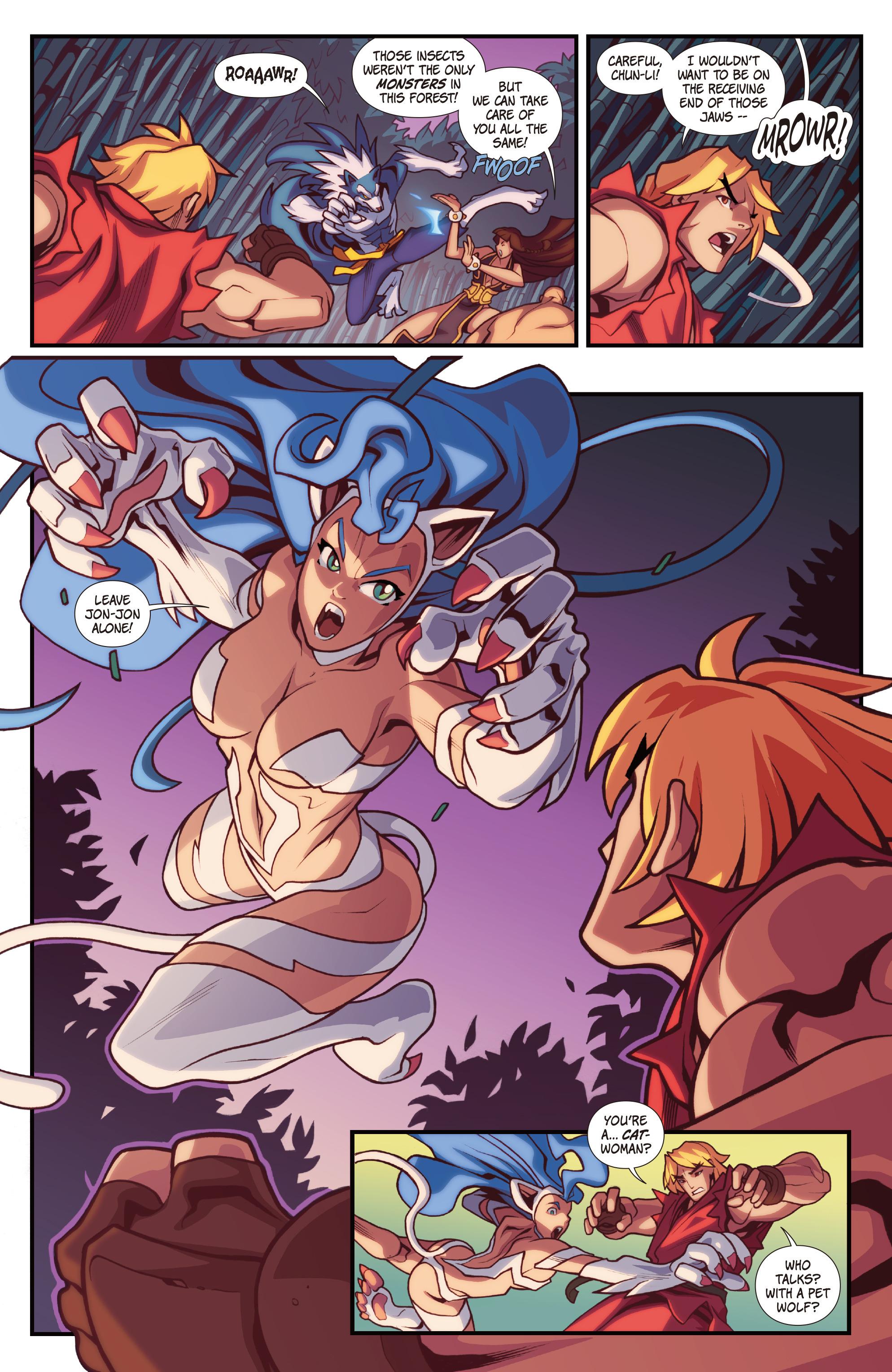 Read online Street Fighter VS Darkstalkers comic -  Issue #1 - 15