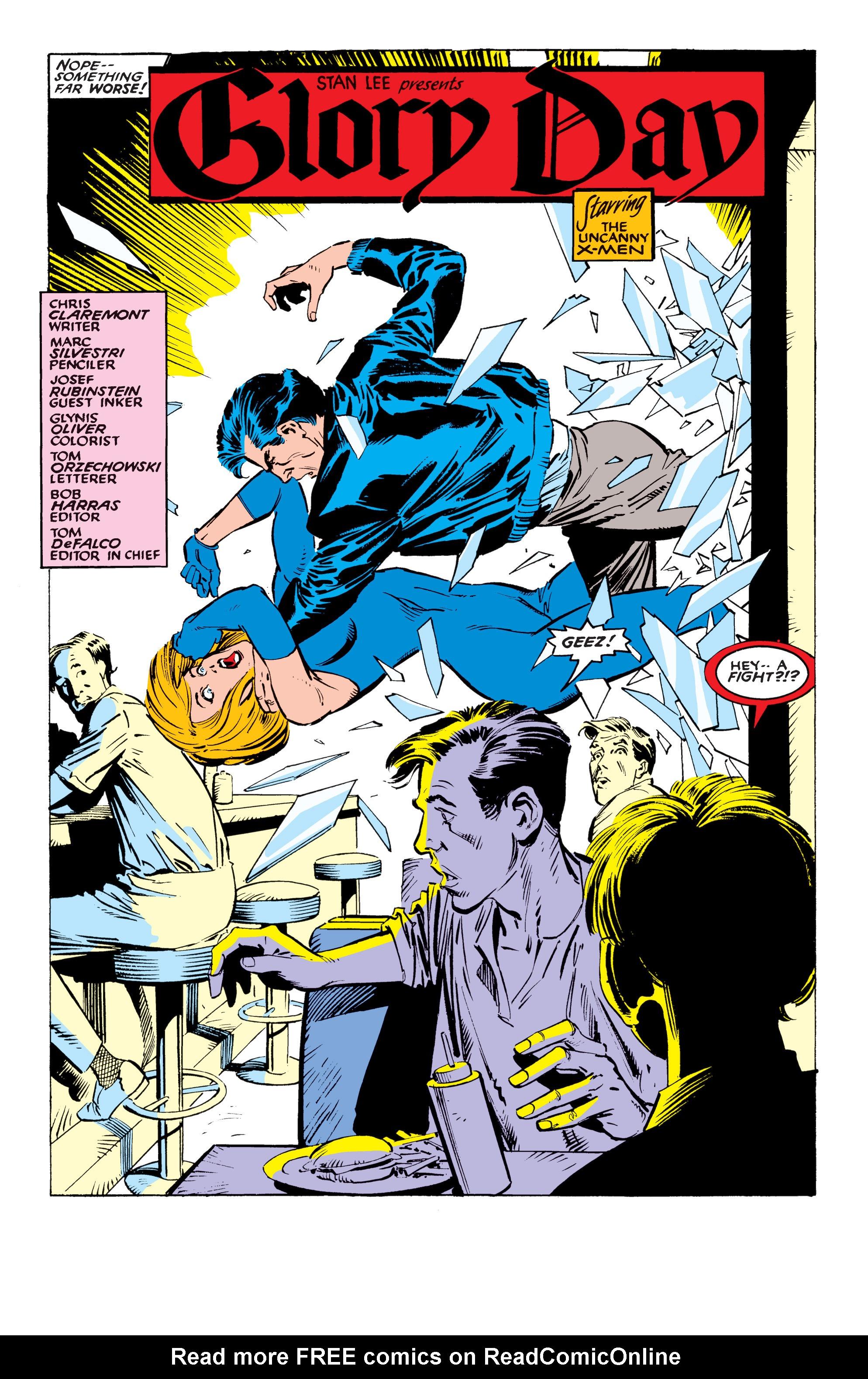 Read online Uncanny X-Men (1963) comic -  Issue #234 - 3