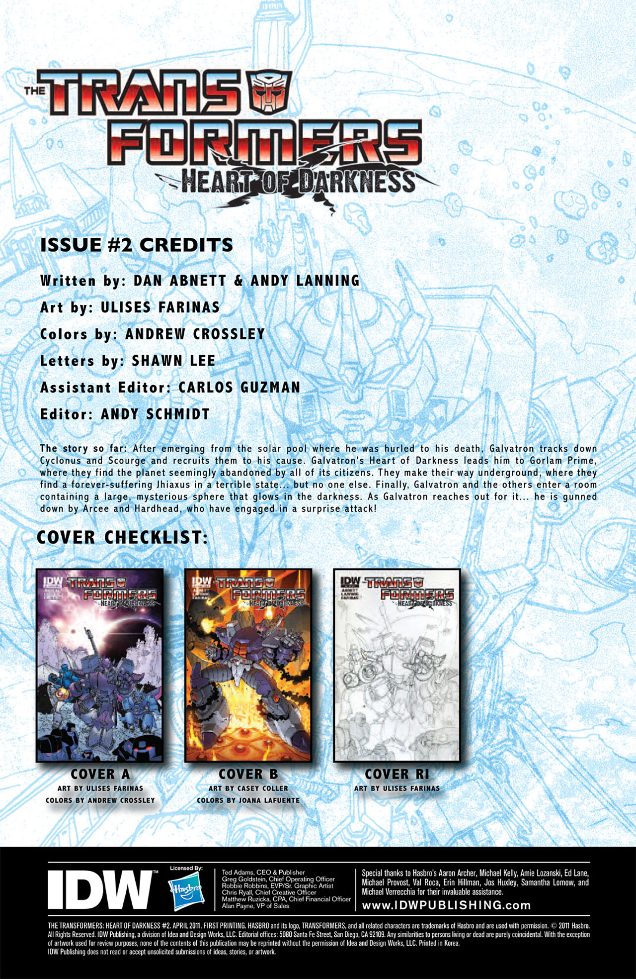 Read online Transformers: Heart of Darkness comic -  Issue #2 - 3