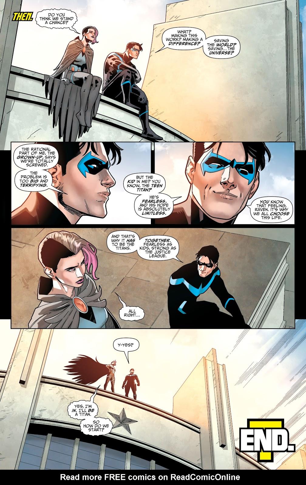 Read online Titans (2016) comic -  Issue #36 - 21