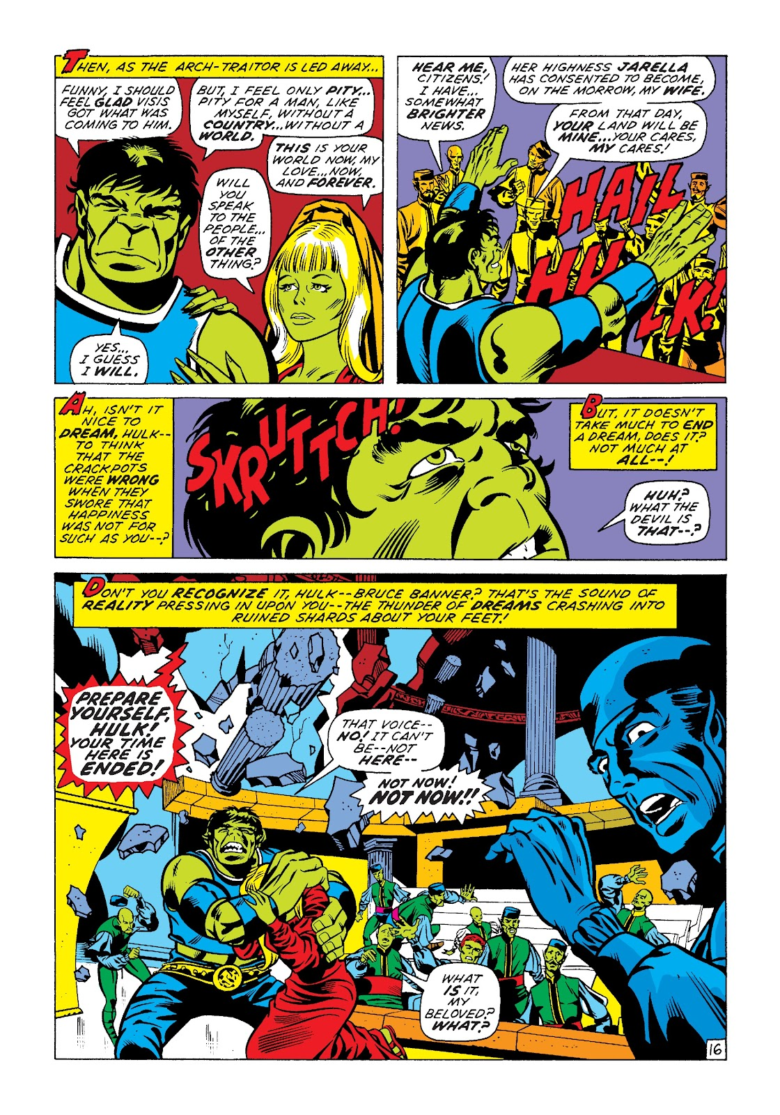 Read online Marvel Masterworks: The Incredible Hulk comic -  Issue # TPB 7 (Part 2) - 42