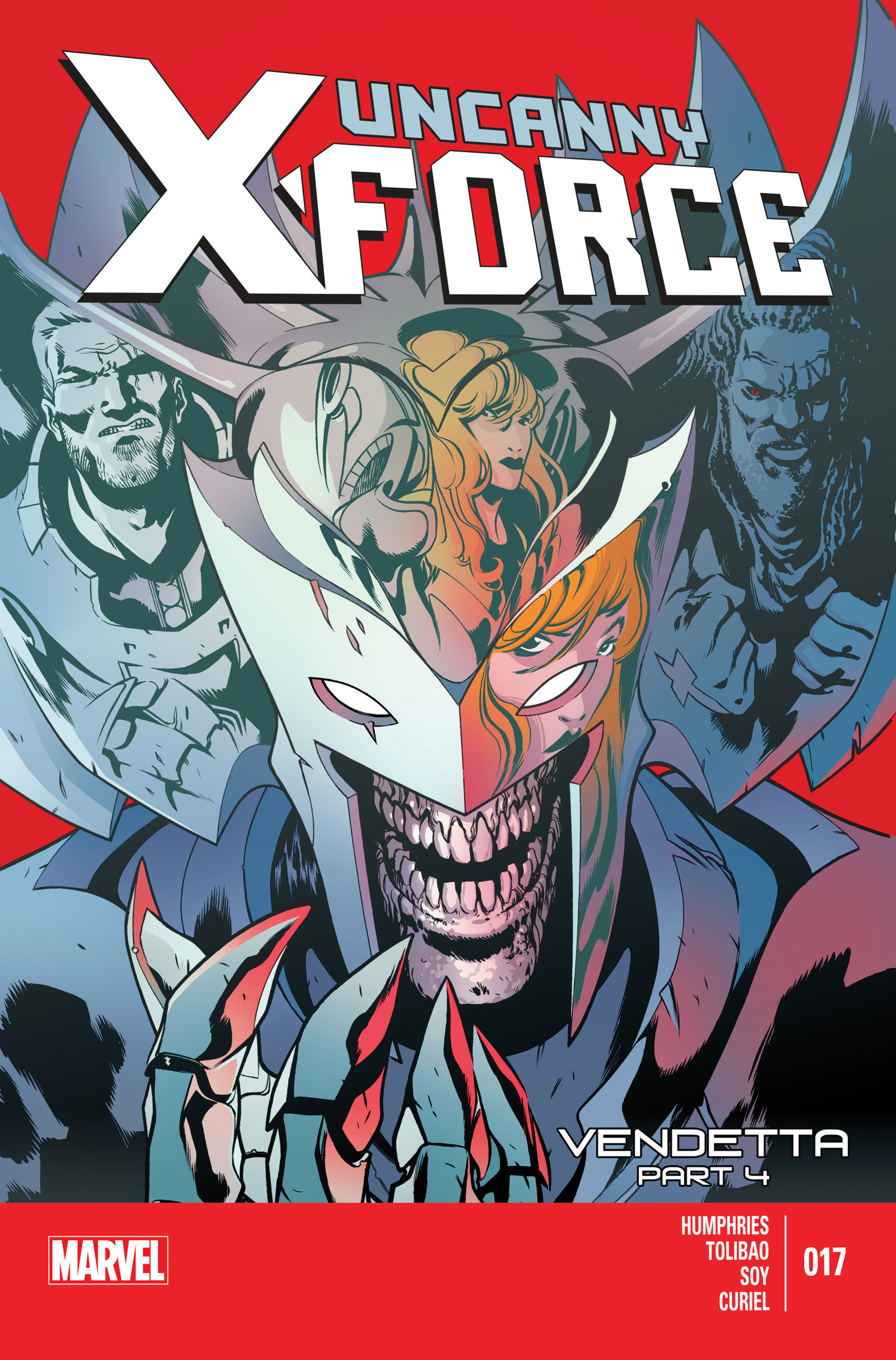 Read online Uncanny X-Force (2013) comic -  Issue #17 - 1