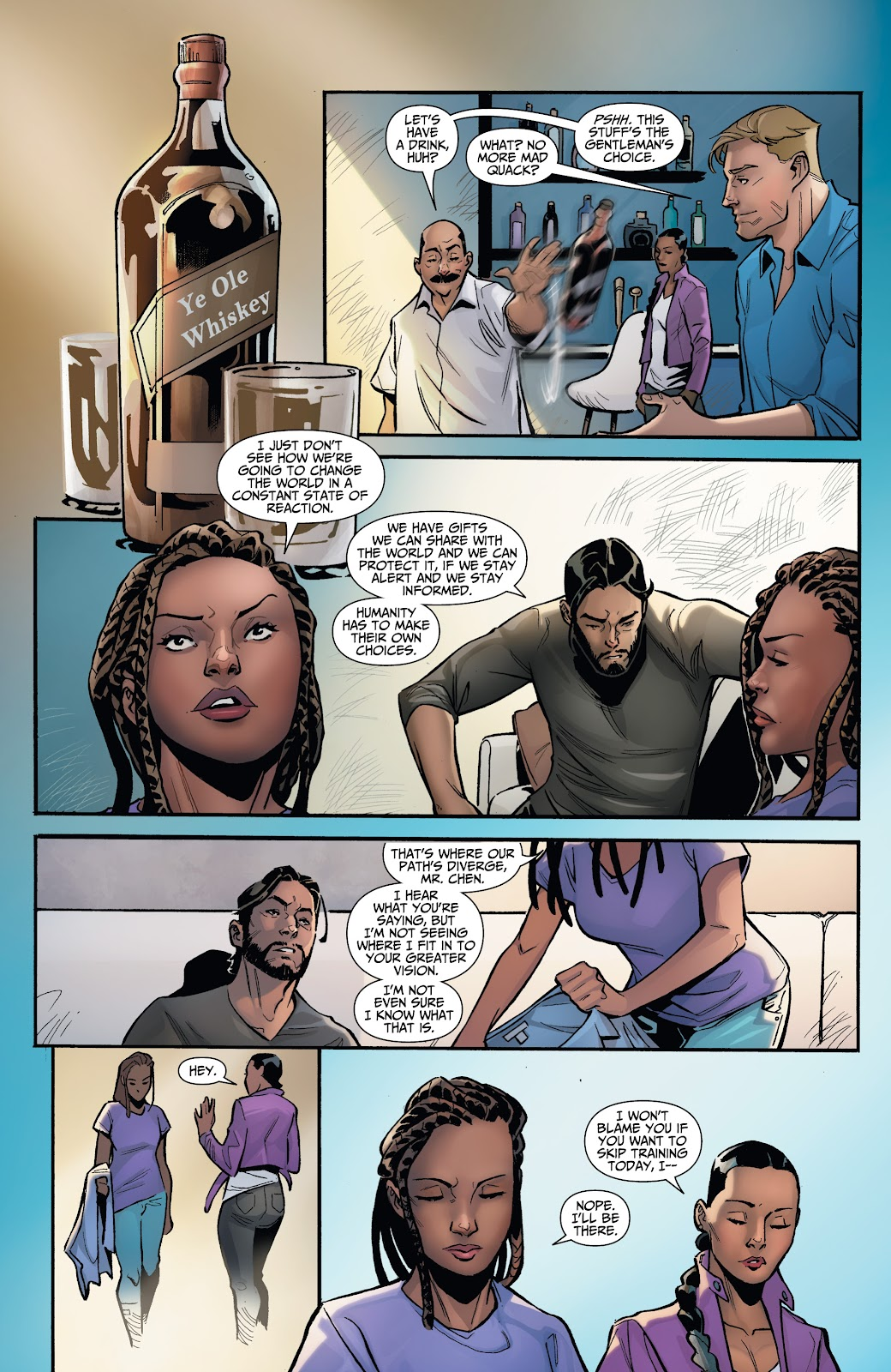 Read online Incidentals comic -  Issue #16 - 16