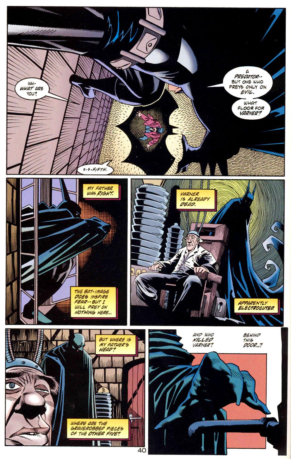 Read online Batman: Haunted Gotham comic -  Issue #1 - 42