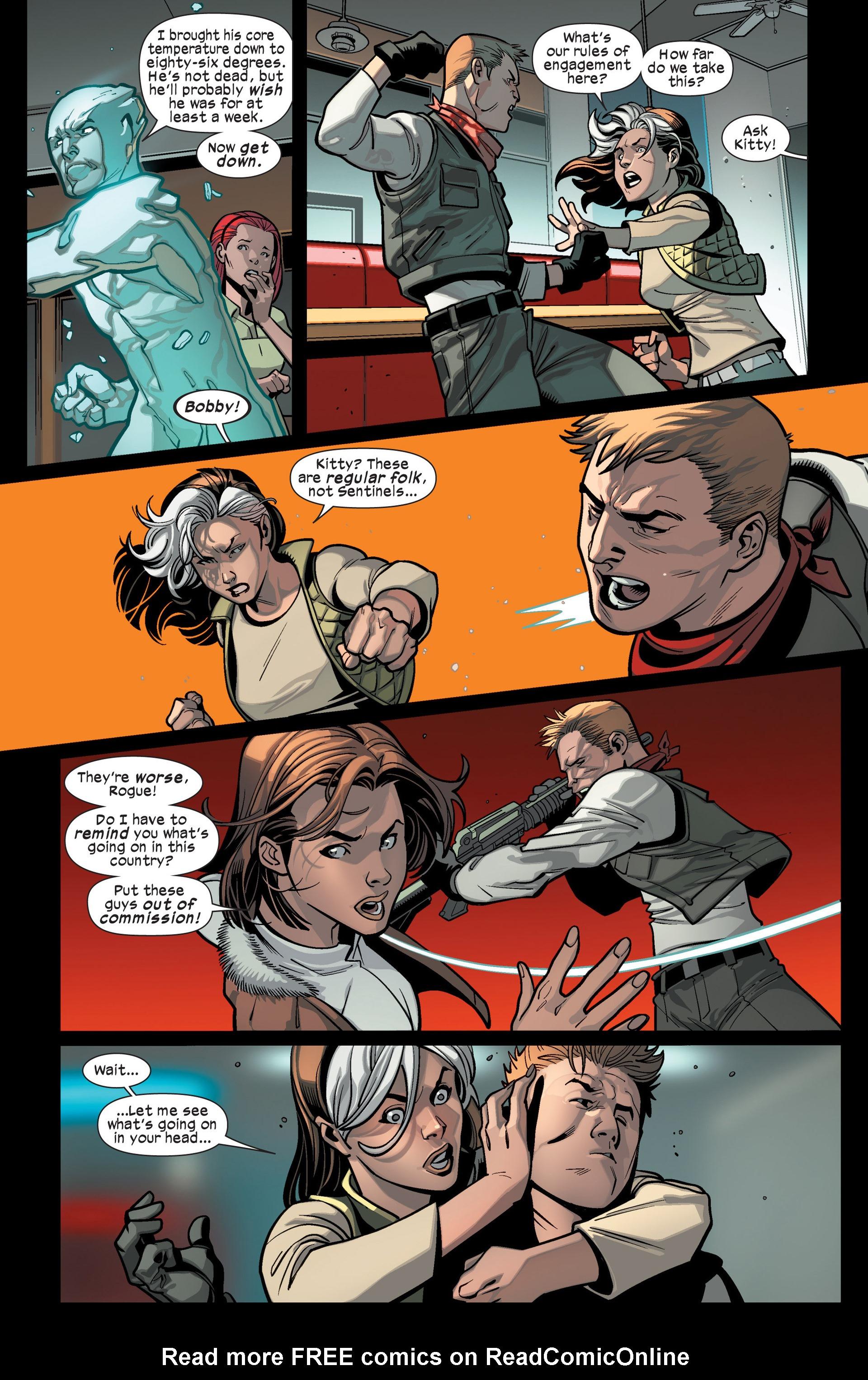 Read online Ultimate Comics X-Men comic -  Issue #15 - 8