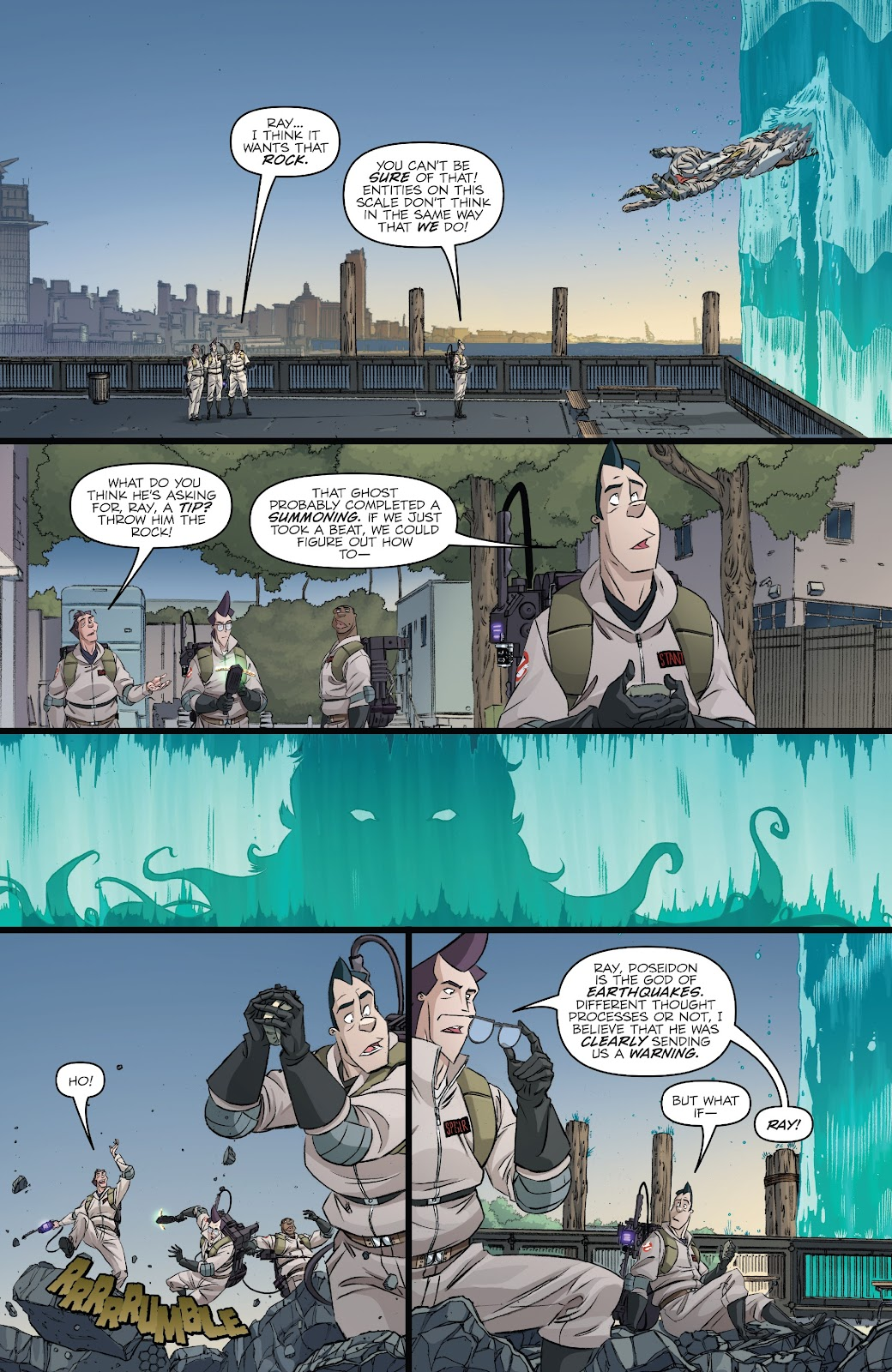 Read online Ghostbusters 35th Anniversary: Ghostbusters comic -  Issue # Full - 23