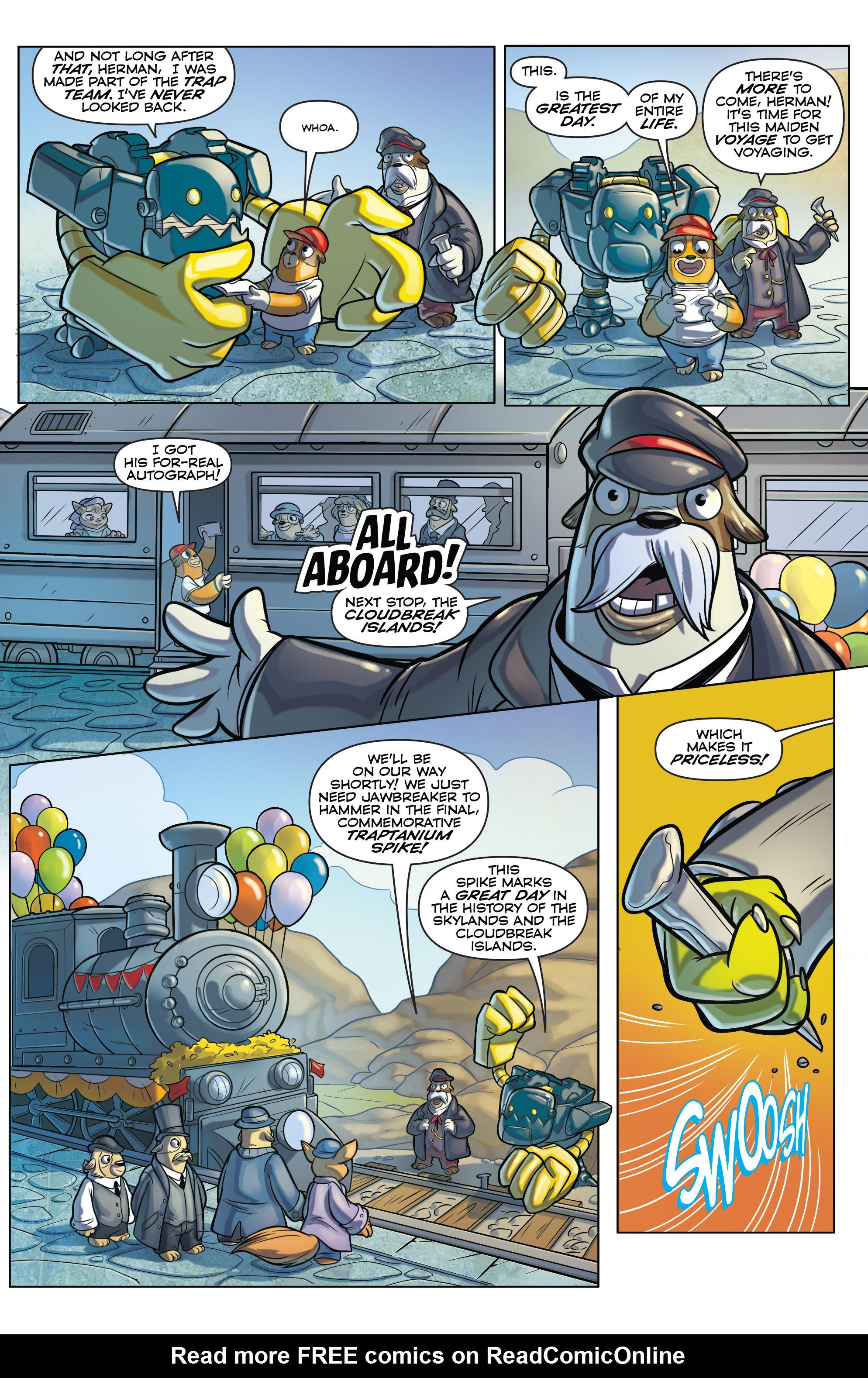 Read online Skylanders comic -  Issue #6 - 7