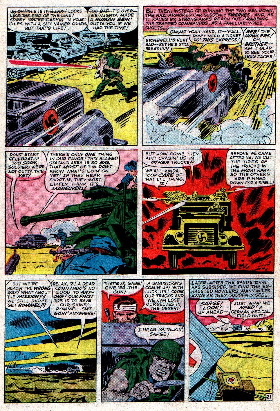 Read online Sgt. Fury comic -  Issue #6 - 30