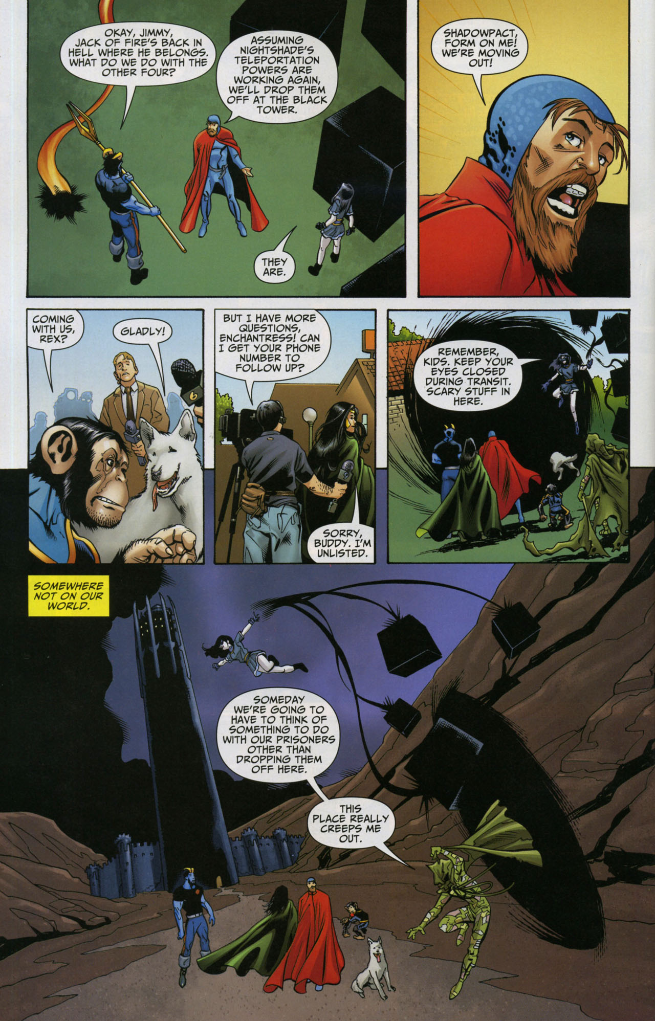 Read online Shadowpact comic -  Issue #5 - 4