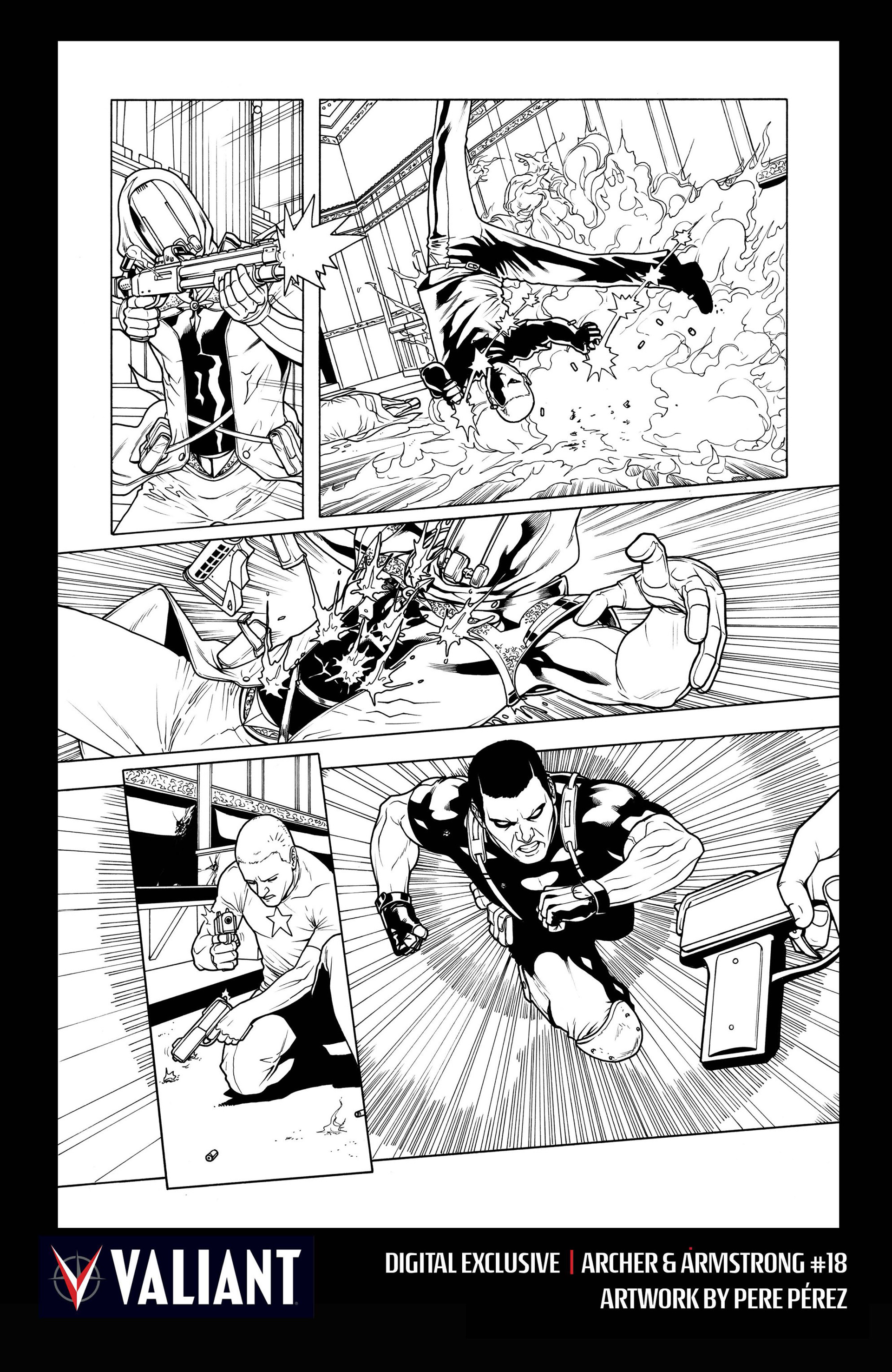 Archer and Armstrong 18 Page 32