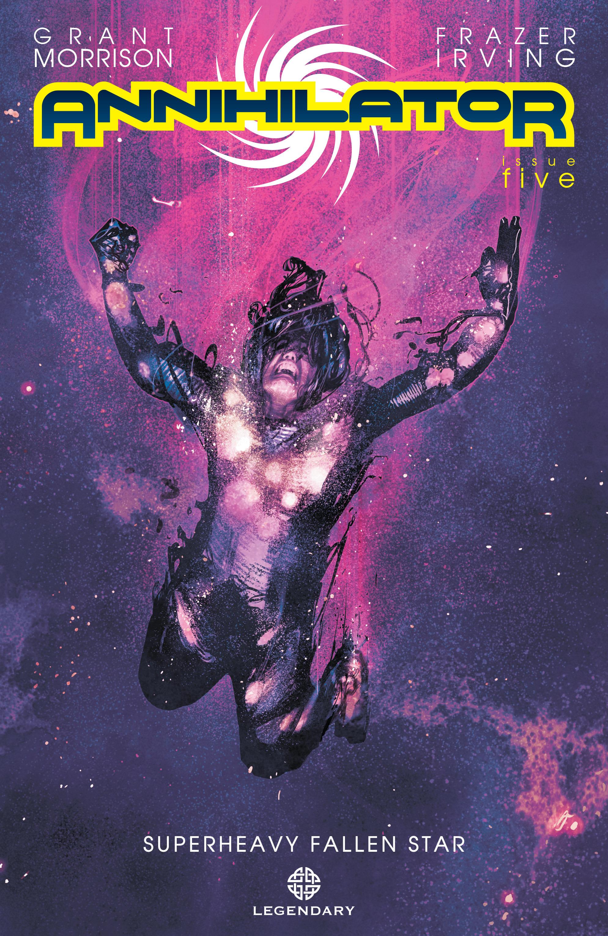 Read online Annihilator comic -  Issue #5 - 1