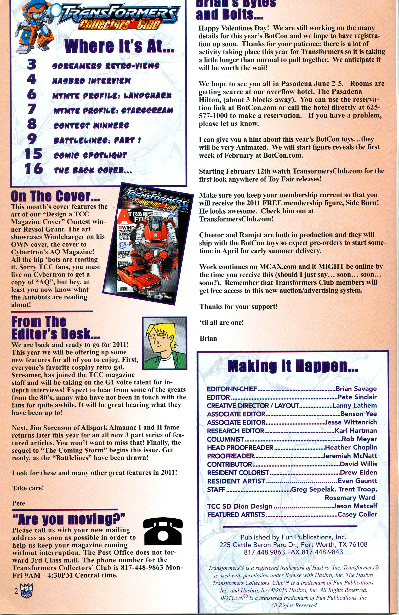 Read online Transformers: Collectors' Club comic -  Issue #37 - 2
