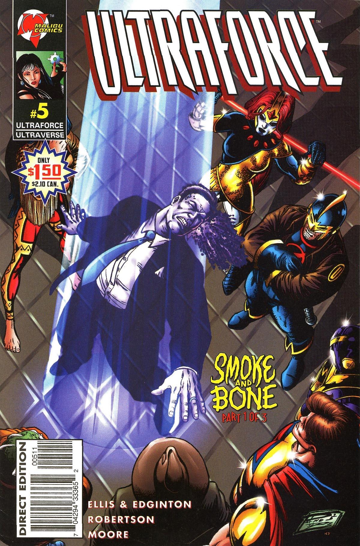 Read online UltraForce (1995) comic -  Issue #5 - 1