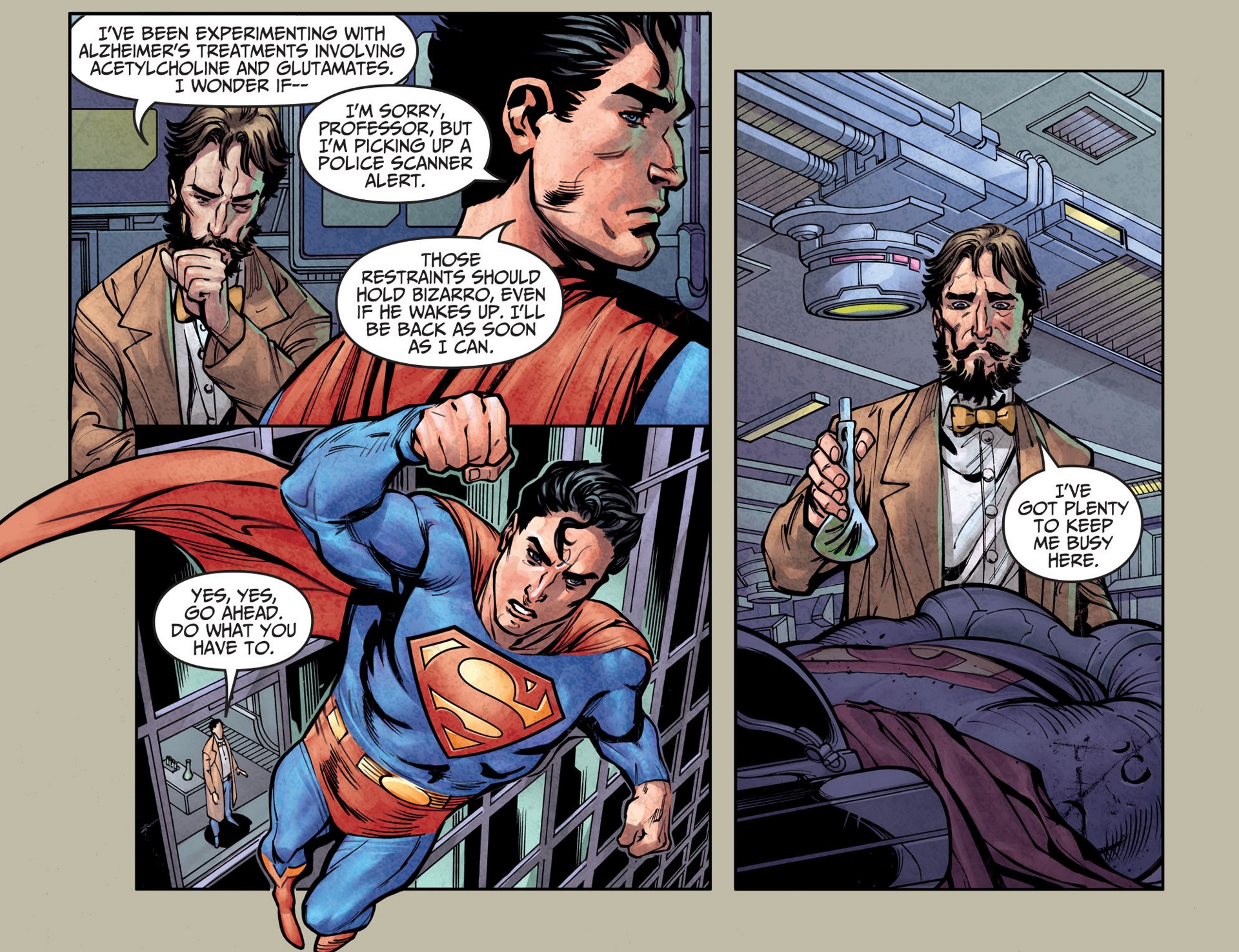 Read online Adventures of Superman [I] comic -  Issue #25 - 12