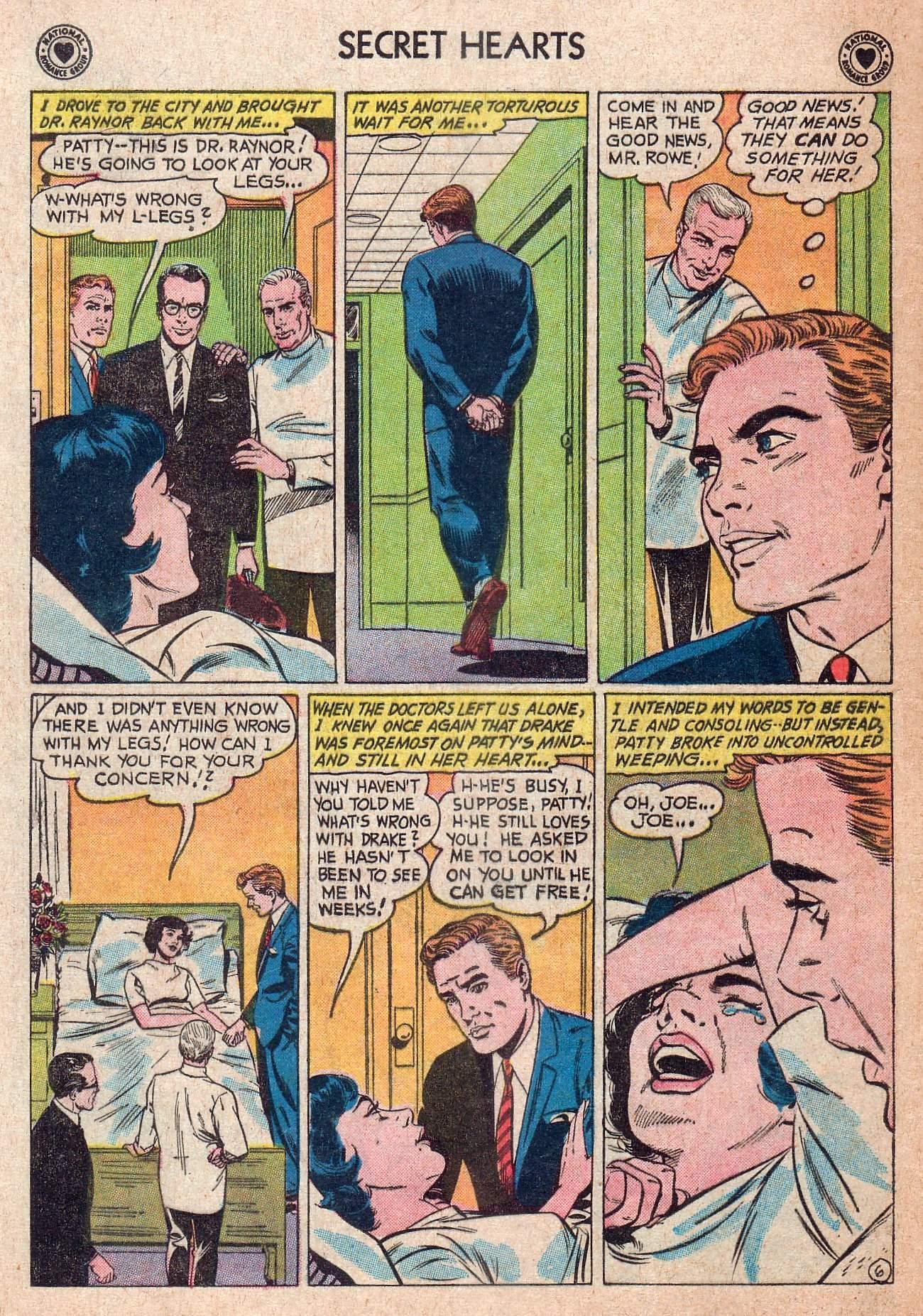 Read online Secret Hearts comic -  Issue #73 - 16