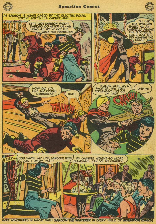 Read online Sensation (Mystery) Comics comic -  Issue #80 - 28