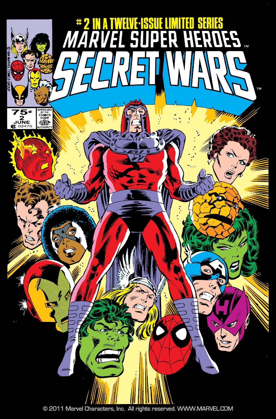 Marvel Super Heroes Secret Wars (1984) 2 Page 1