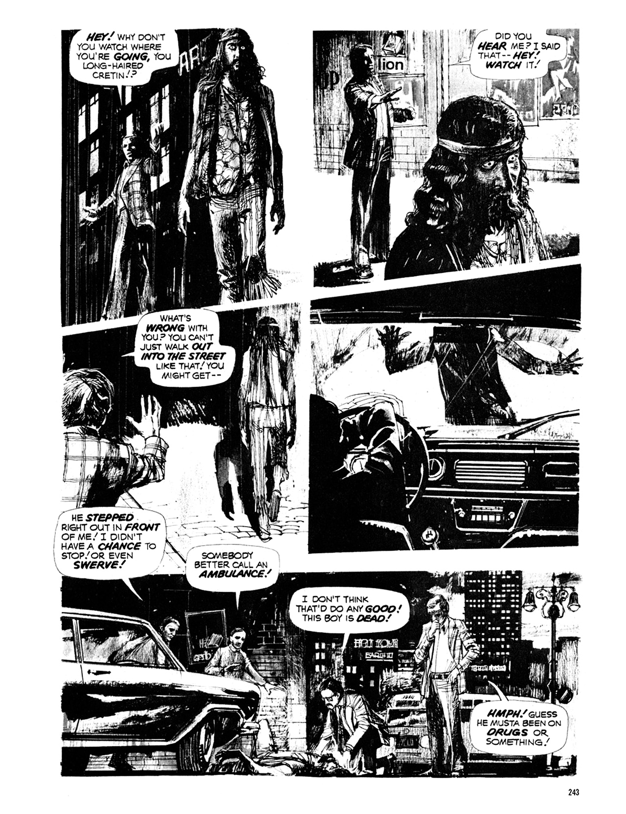 Read online Eerie Archives comic -  Issue # TPB 10 - 244