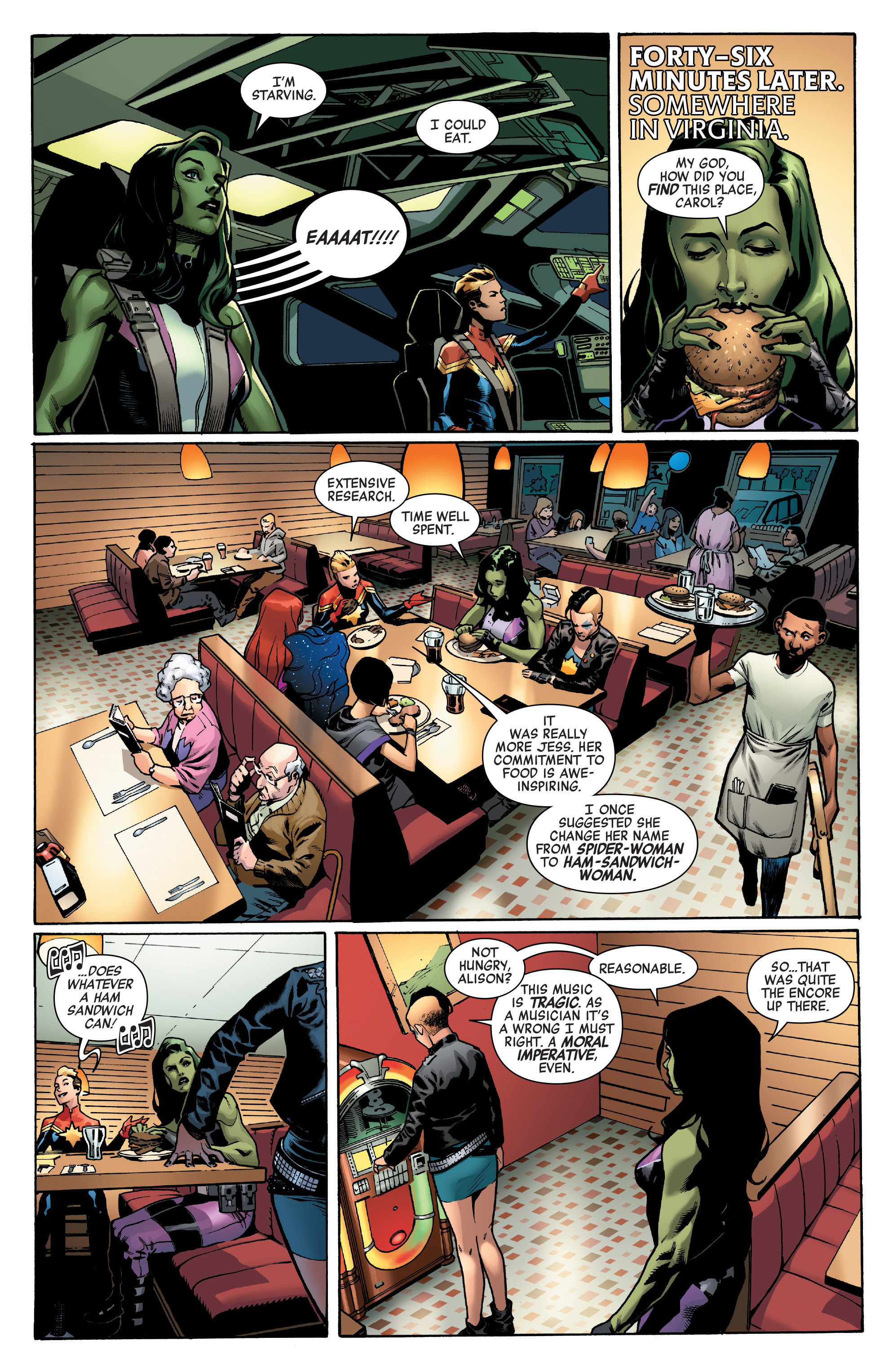 Read online A-Force (2016) comic -  Issue #4 - 14