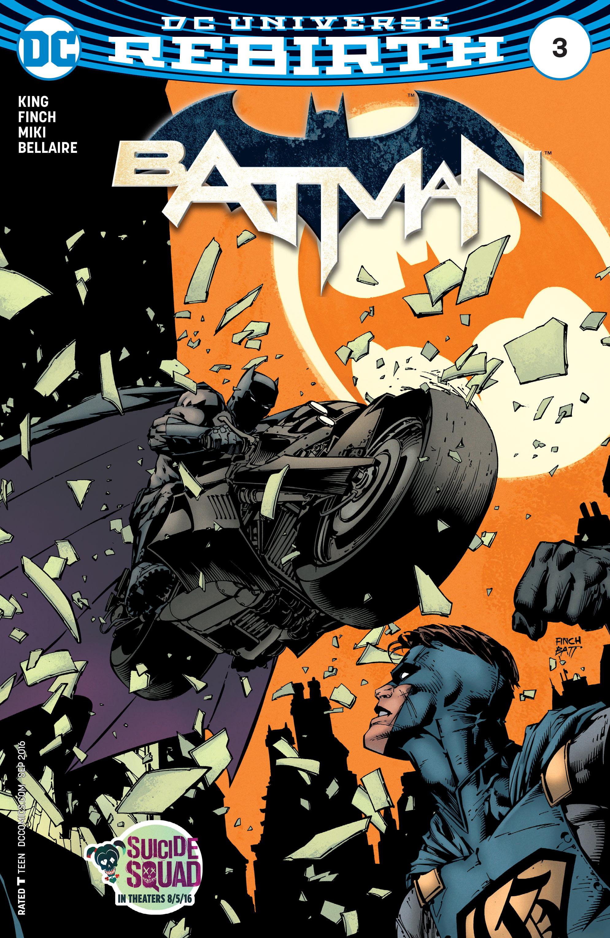 Batman (2016) 3 Page 1