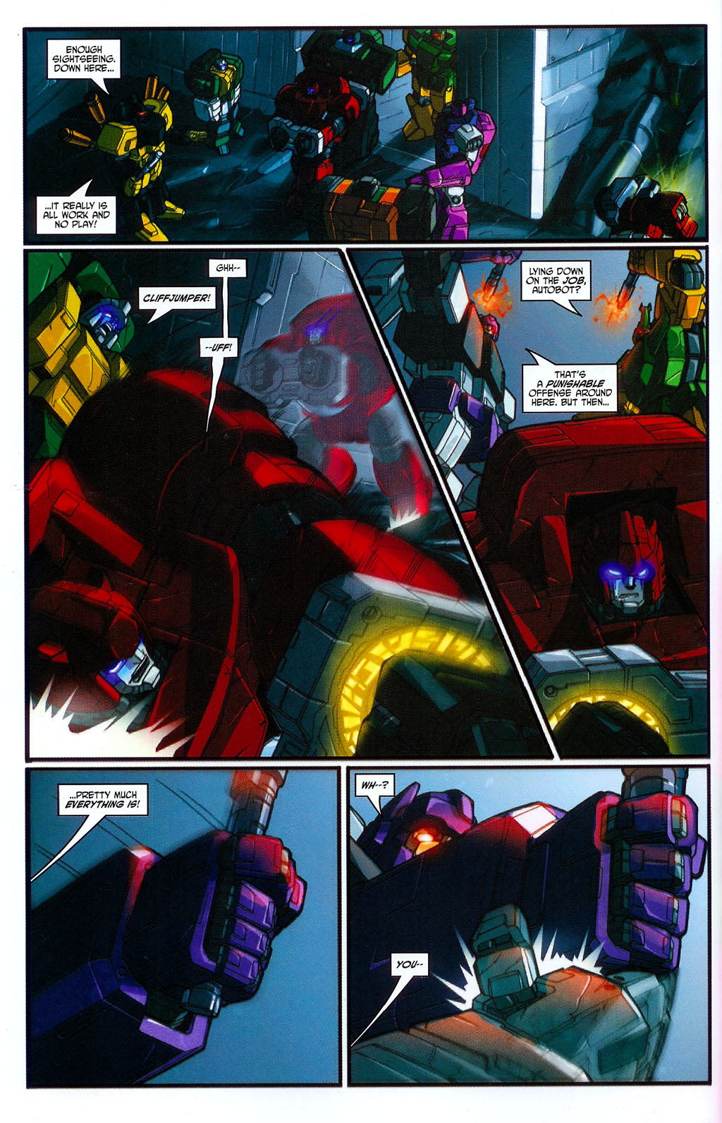 """Read online Transformers War Within: """"The Age of Wrath"""" comic -  Issue #2 - 12"""