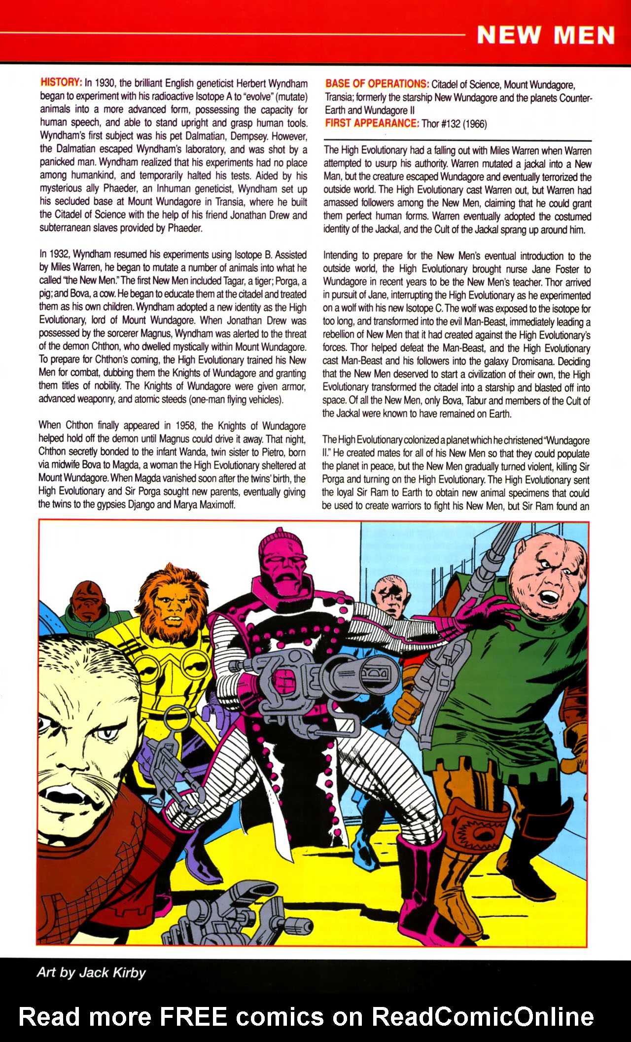 Read online All-New Official Handbook of the Marvel Universe A to Z comic -  Issue #8 - 5