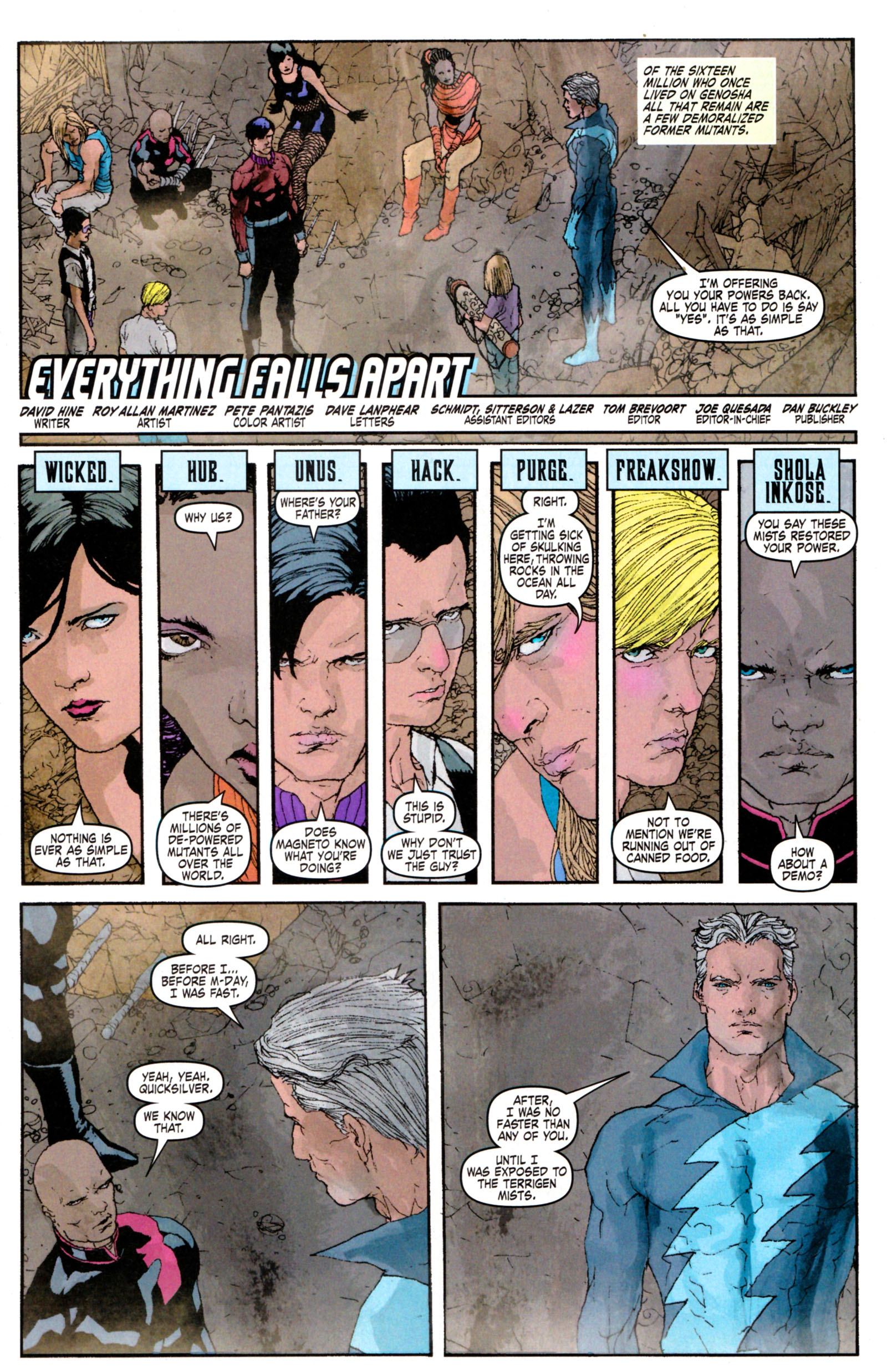 Read online Son of M comic -  Issue #5 - 5