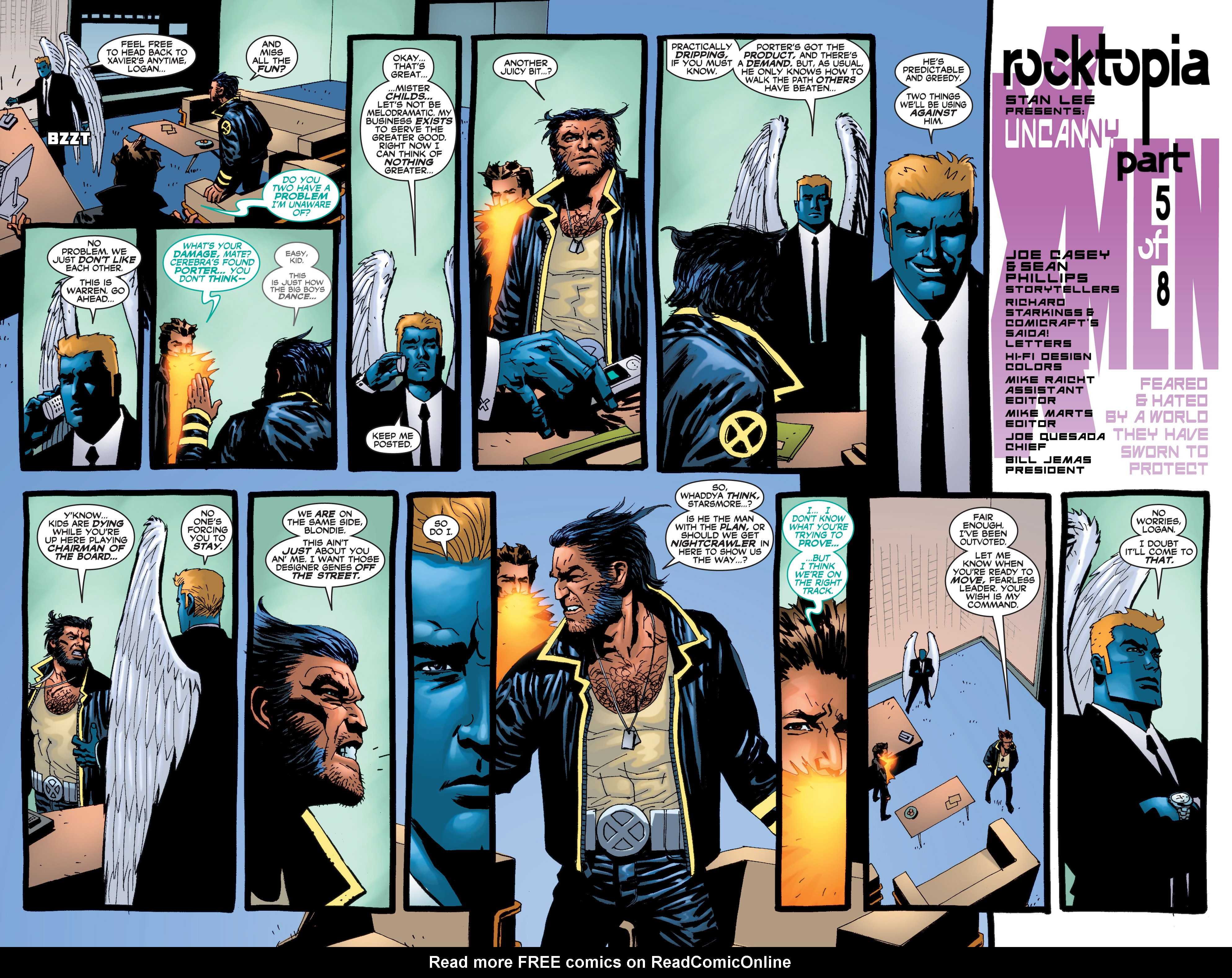 Read online Uncanny X-Men (1963) comic -  Issue #409 - 3
