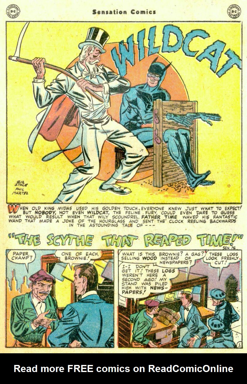 Read online Sensation (Mystery) Comics comic -  Issue #74 - 43