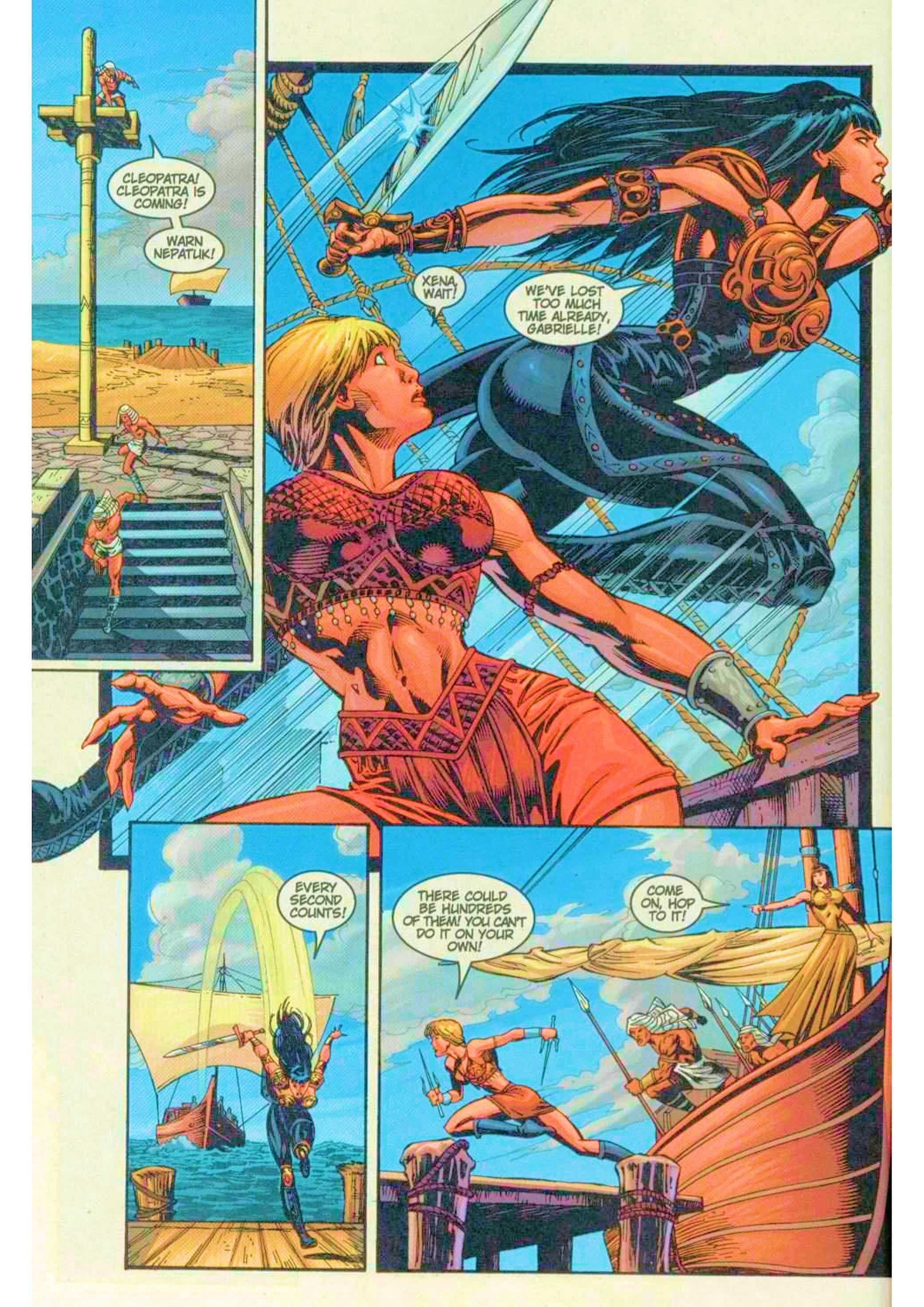 Read online Xena: Warrior Princess (1999) comic -  Issue #6 - 10