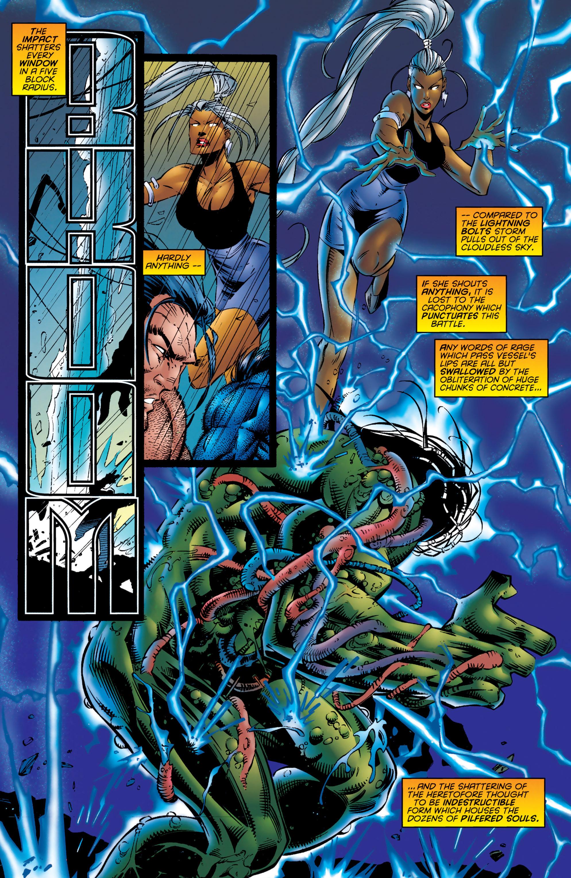 Read online Uncanny X-Men (1963) comic -  Issue #324 - 19