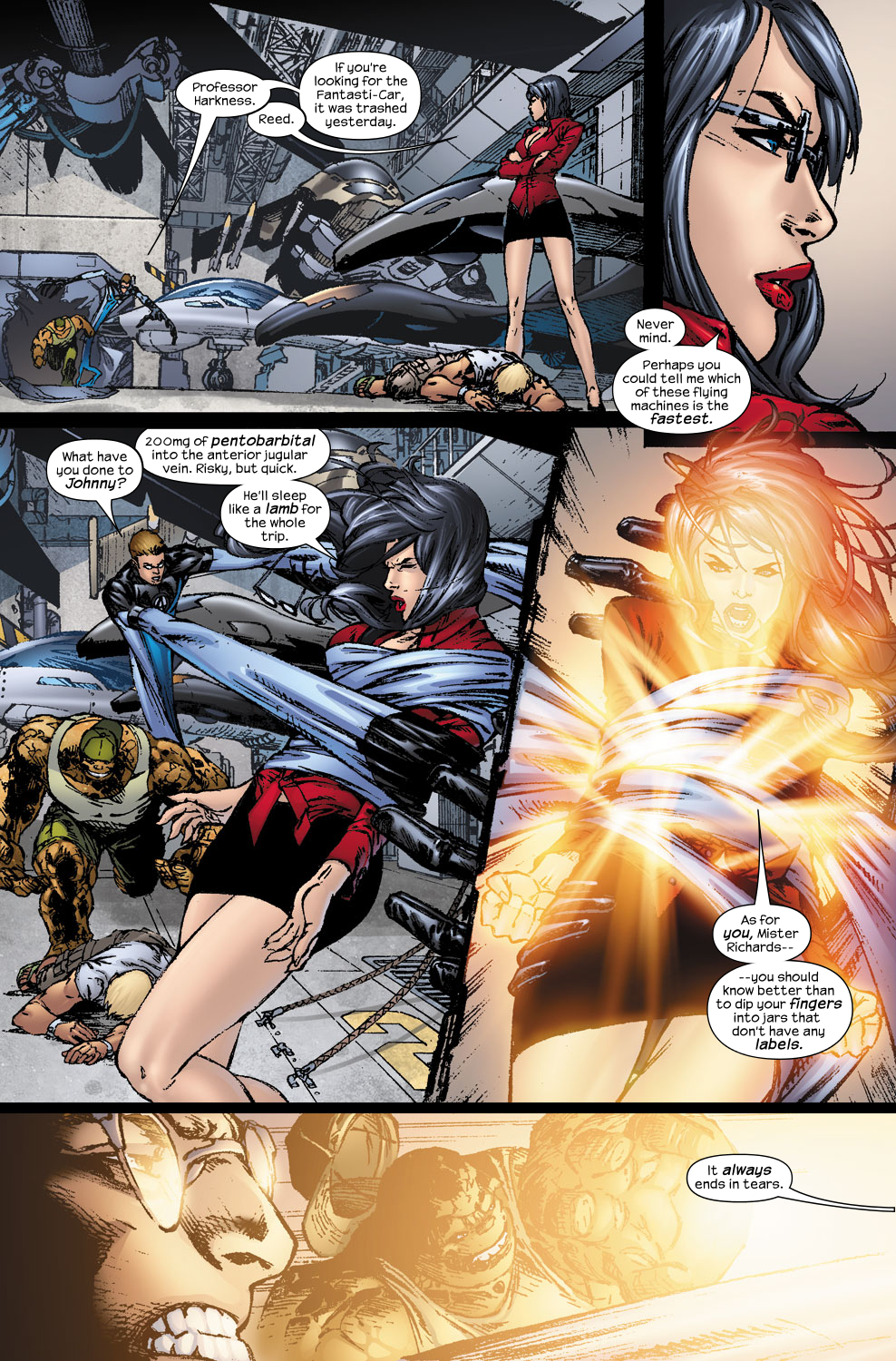 Read online Ultimate Fantastic Four (2004) comic -  Issue #56 - 19