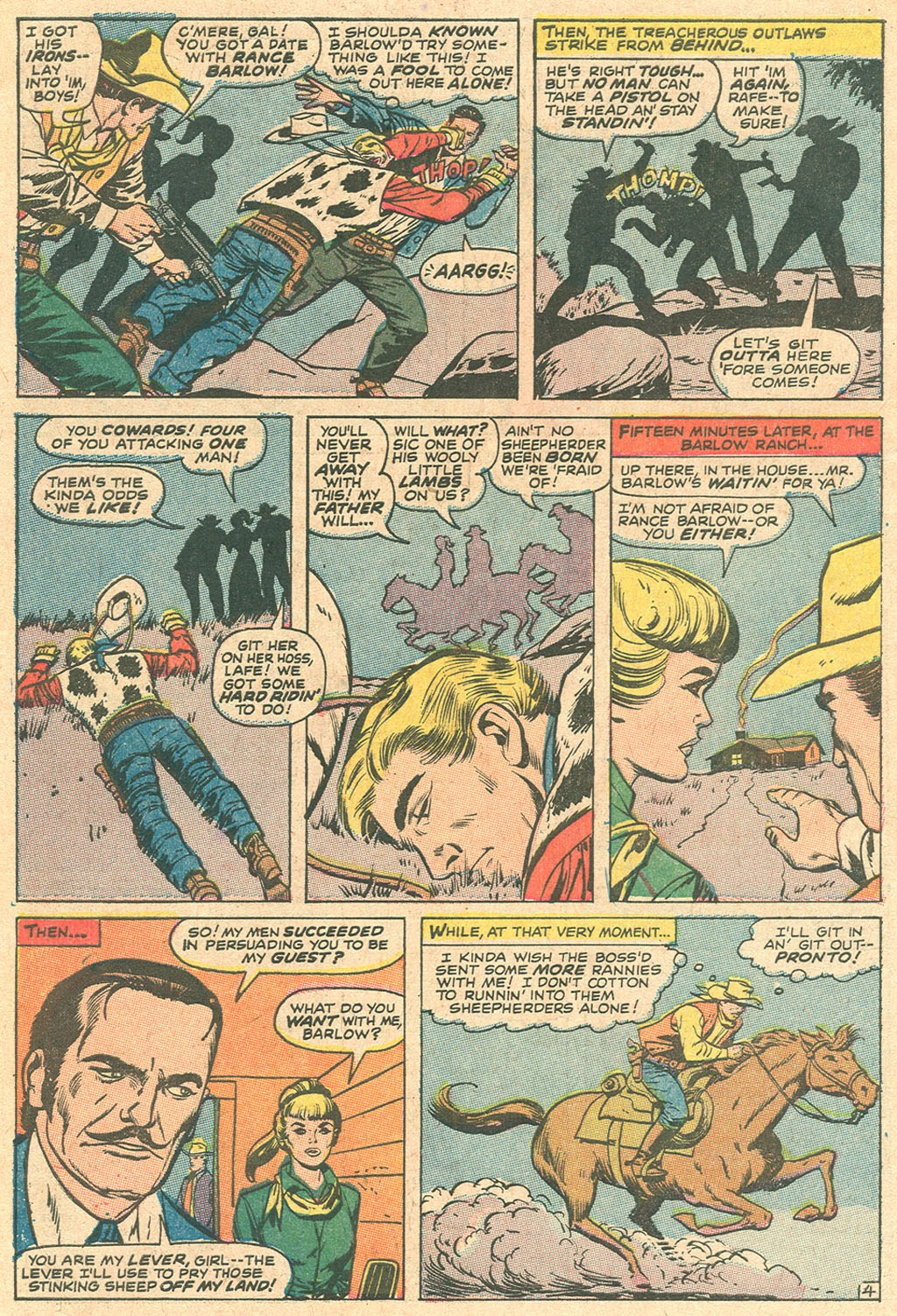Kid Colt Outlaw issue 136 - Page 6