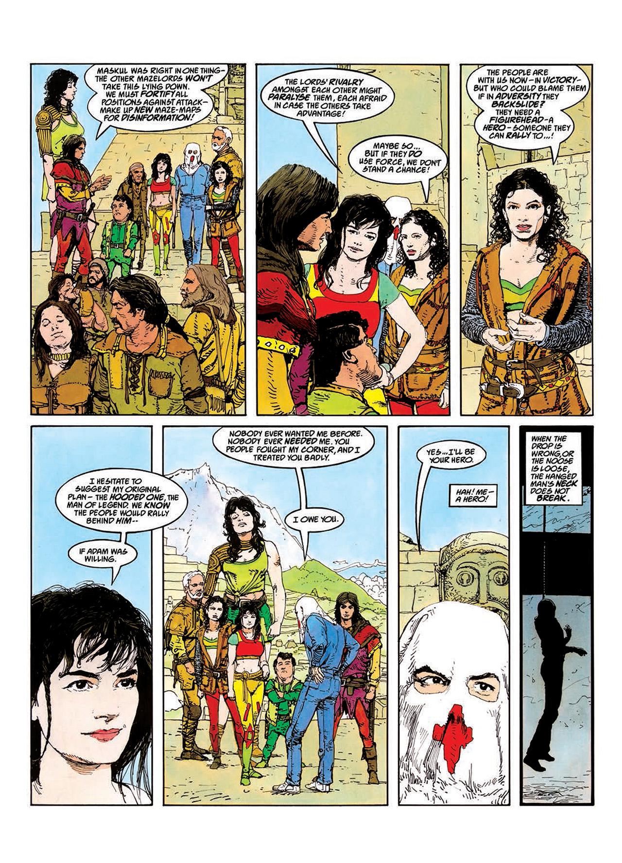 Read online Mazeworld comic -  Issue # TPB - 61