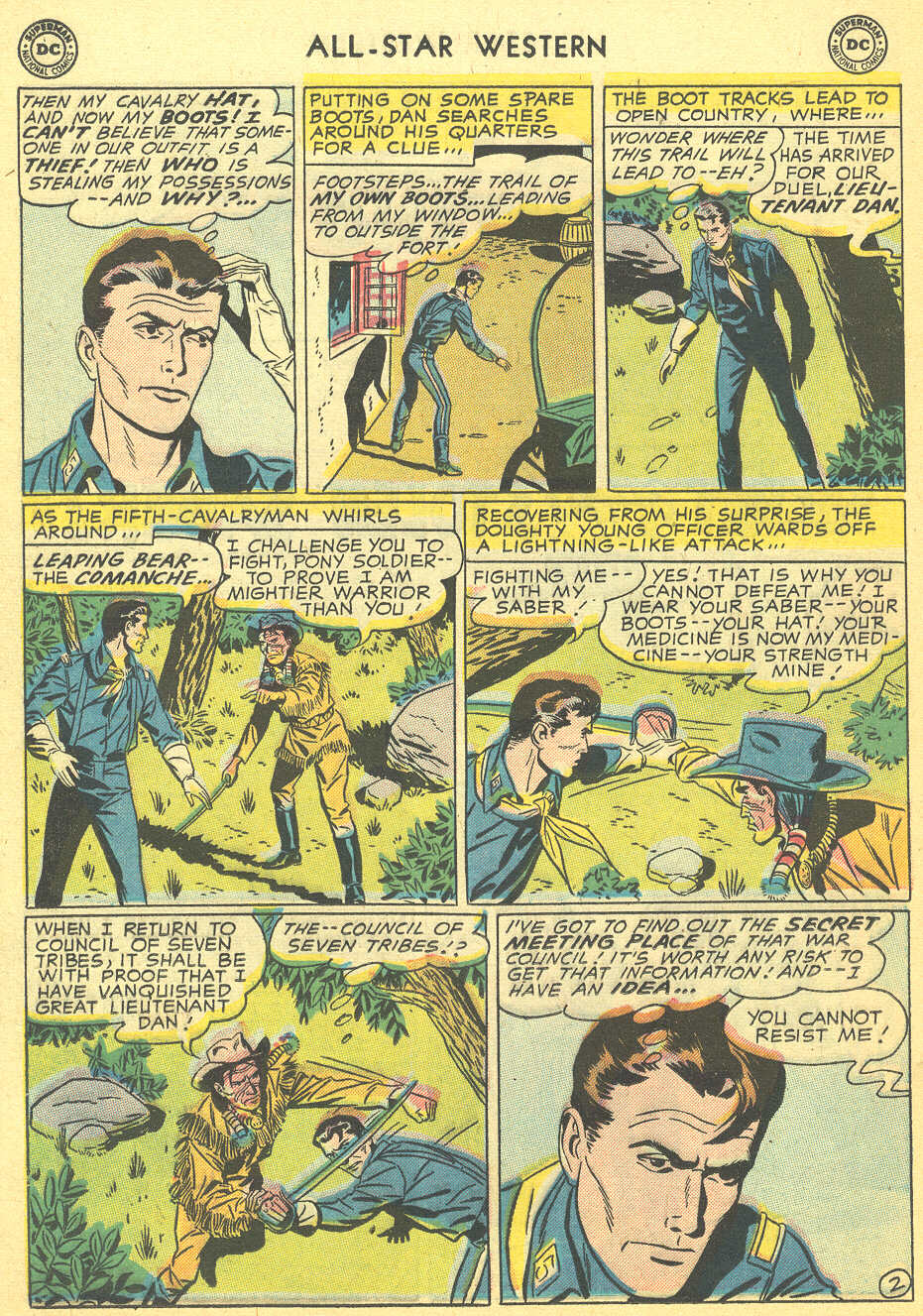 Read online All-Star Western (1951) comic -  Issue #92 - 20