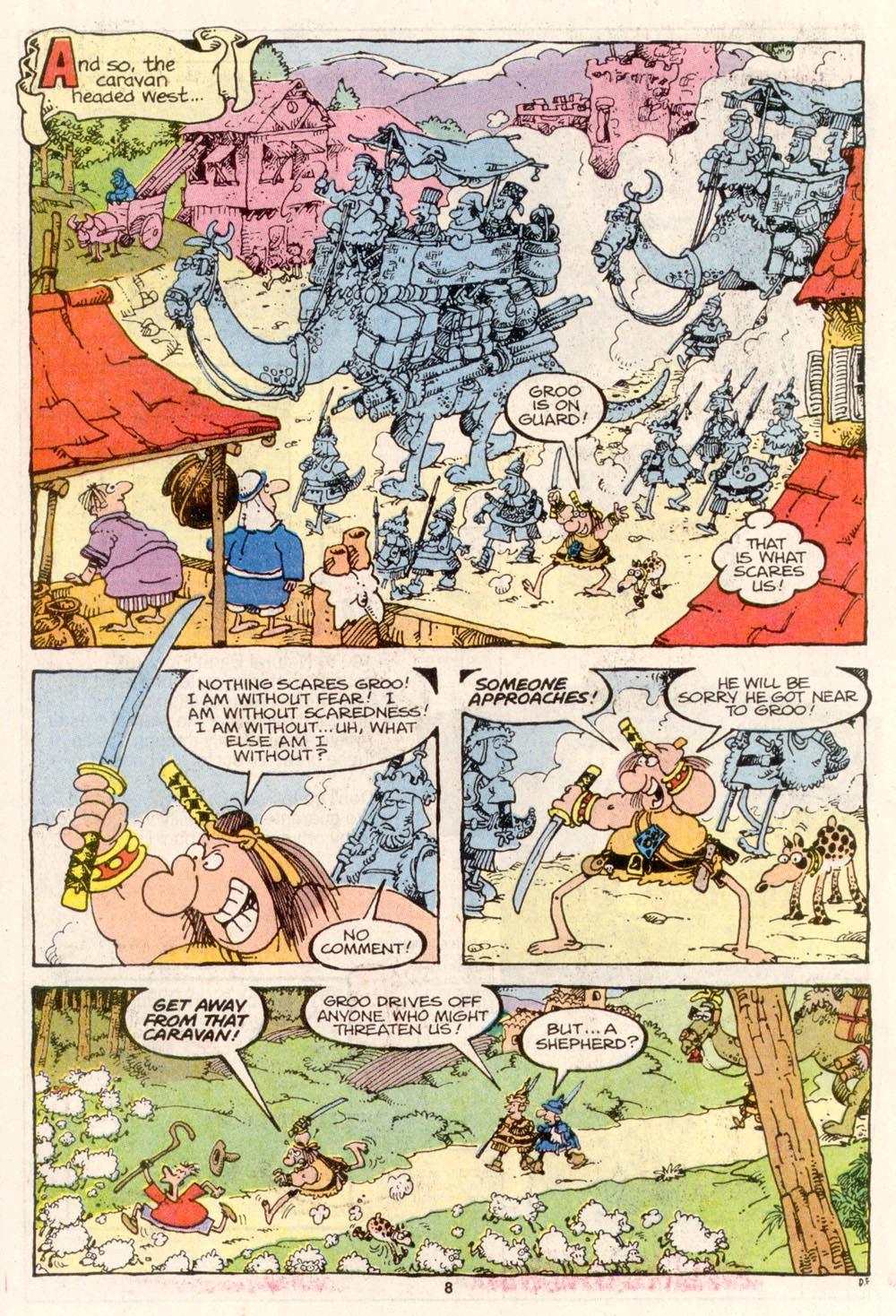 Read online Sergio Aragonés Groo the Wanderer comic -  Issue #80 - 6